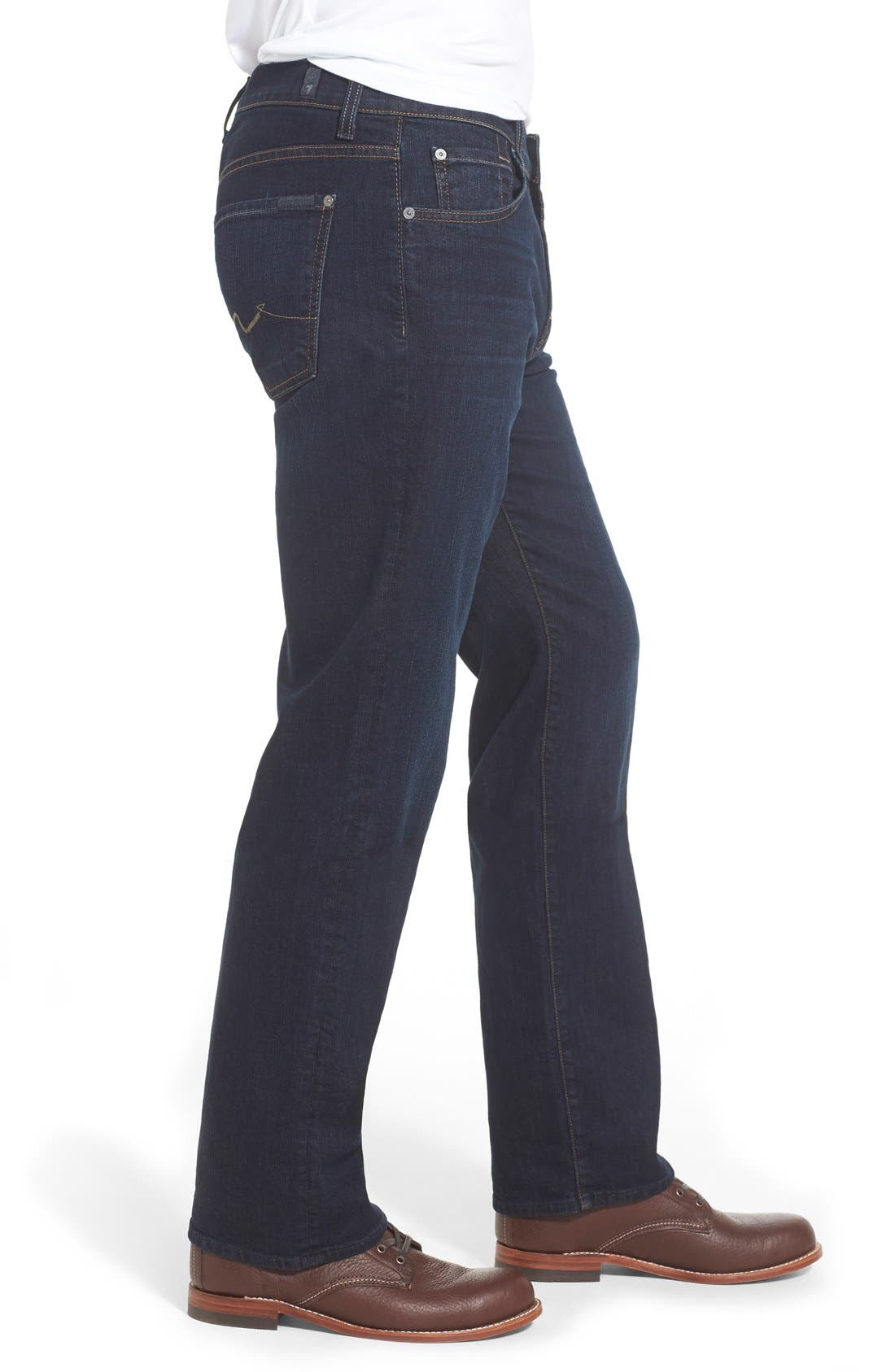'Austyn- LuxePerformance' Relaxed Fit Jeans,                             Alternate thumbnail 4, color,