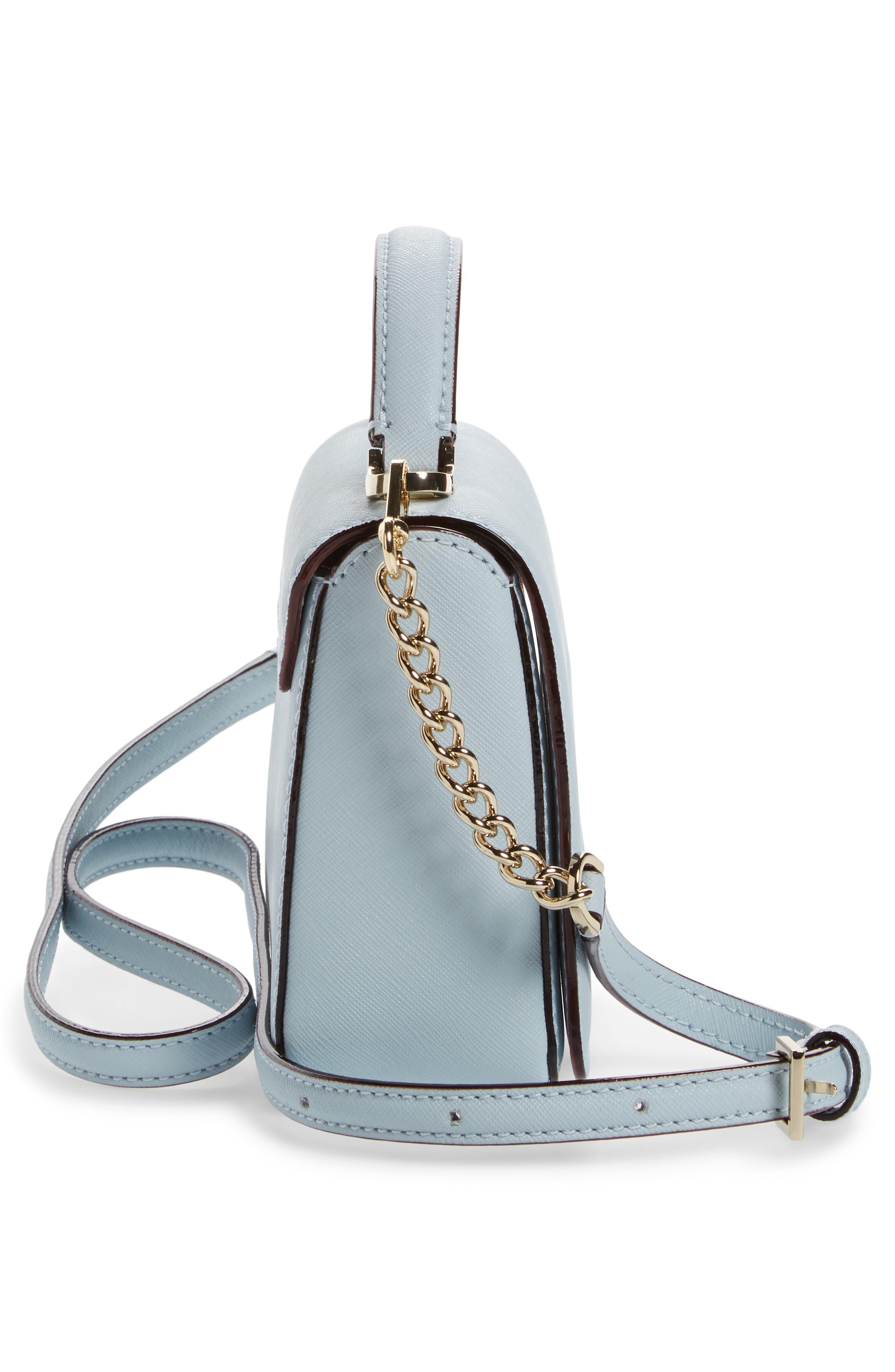 cameron street - hope saffiano leather crossbody bag,                             Alternate thumbnail 14, color,