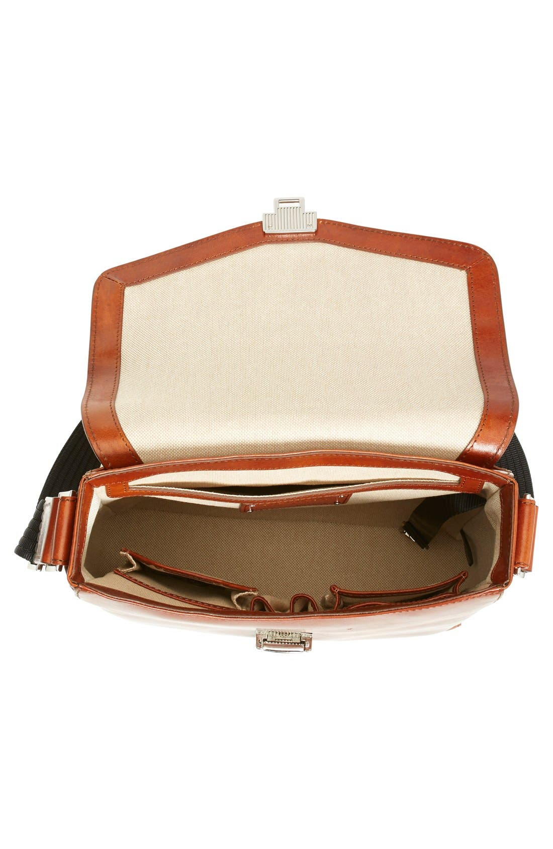'Man Bag' Leather Crossbody Bag,                             Alternate thumbnail 4, color,                             233