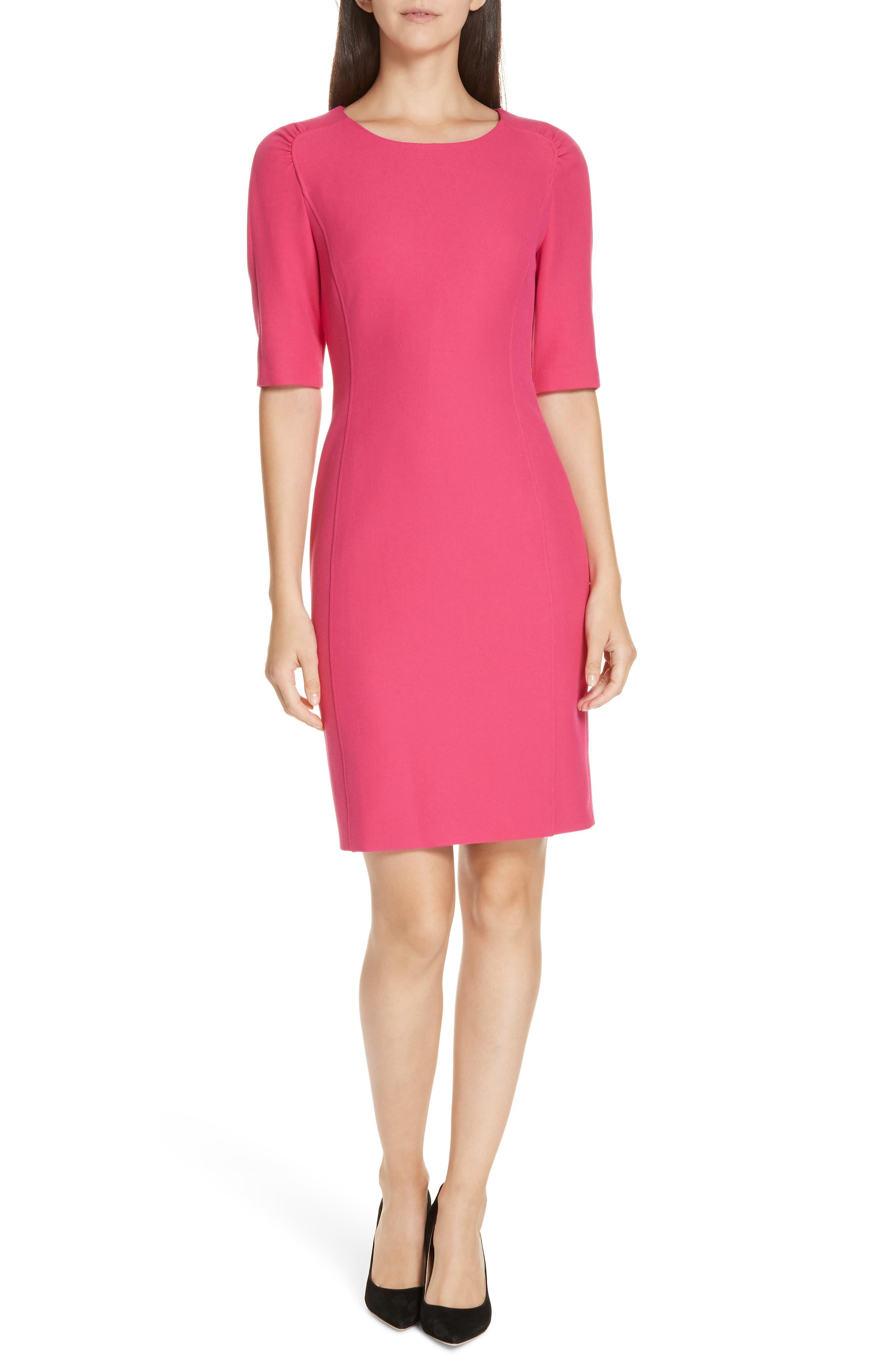Daletana Soft Twill Dress by Boss