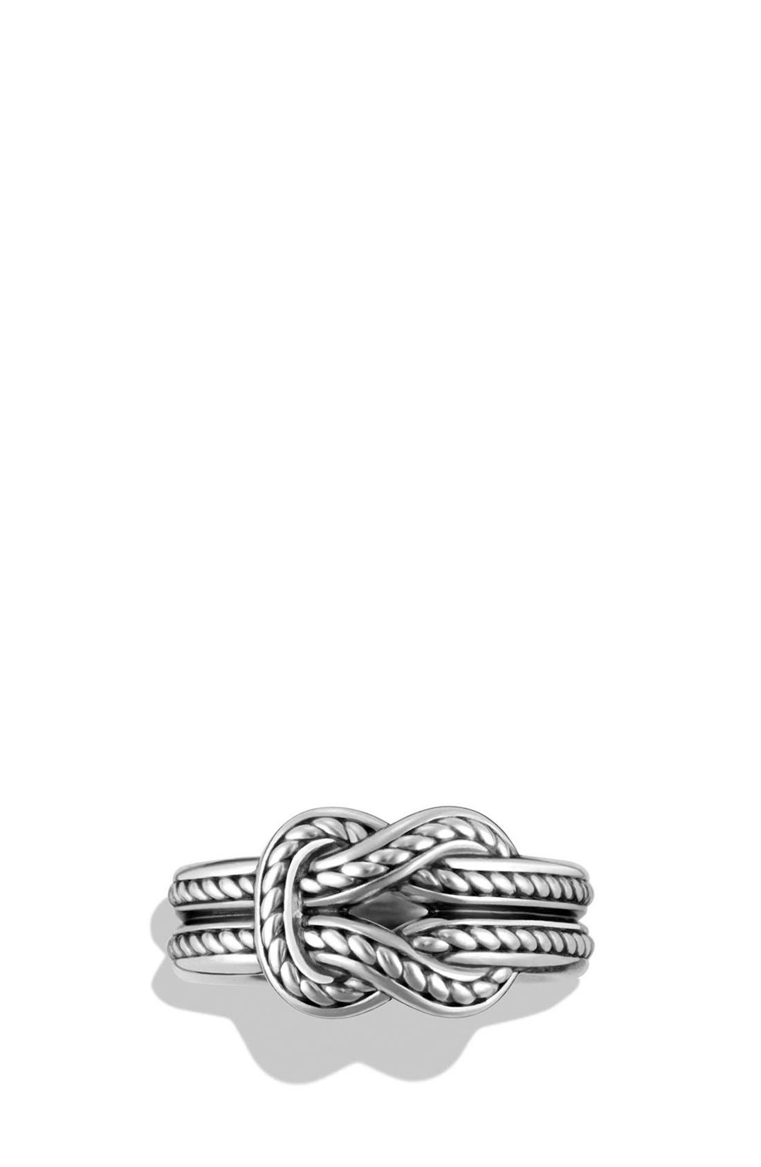 'Maritime' Reef Knot Band Ring,                             Alternate thumbnail 2, color,                             040
