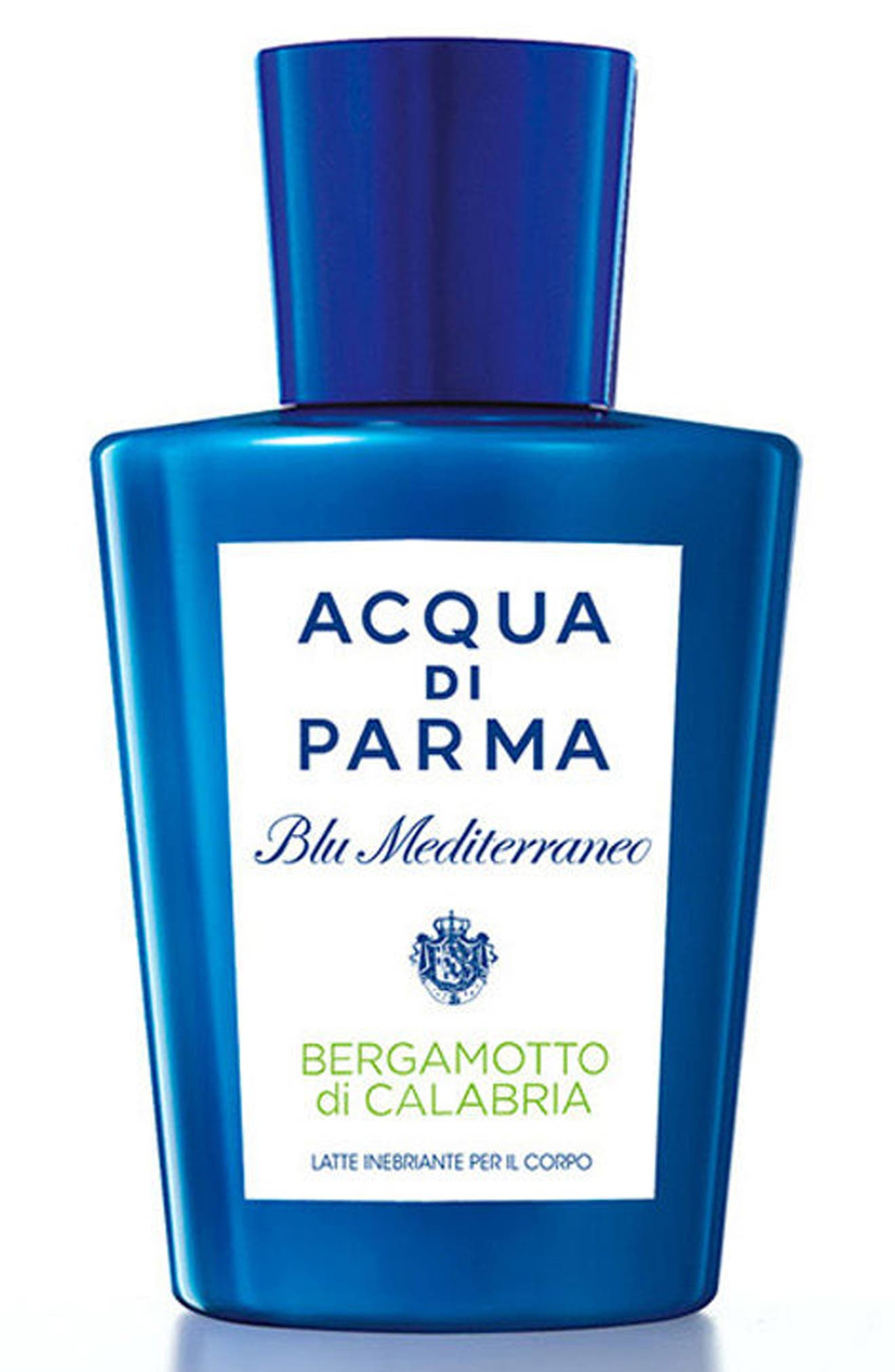 'Blu Mediterraneo' Bergamotto di Calabria Body Lotion,                             Main thumbnail 1, color,
