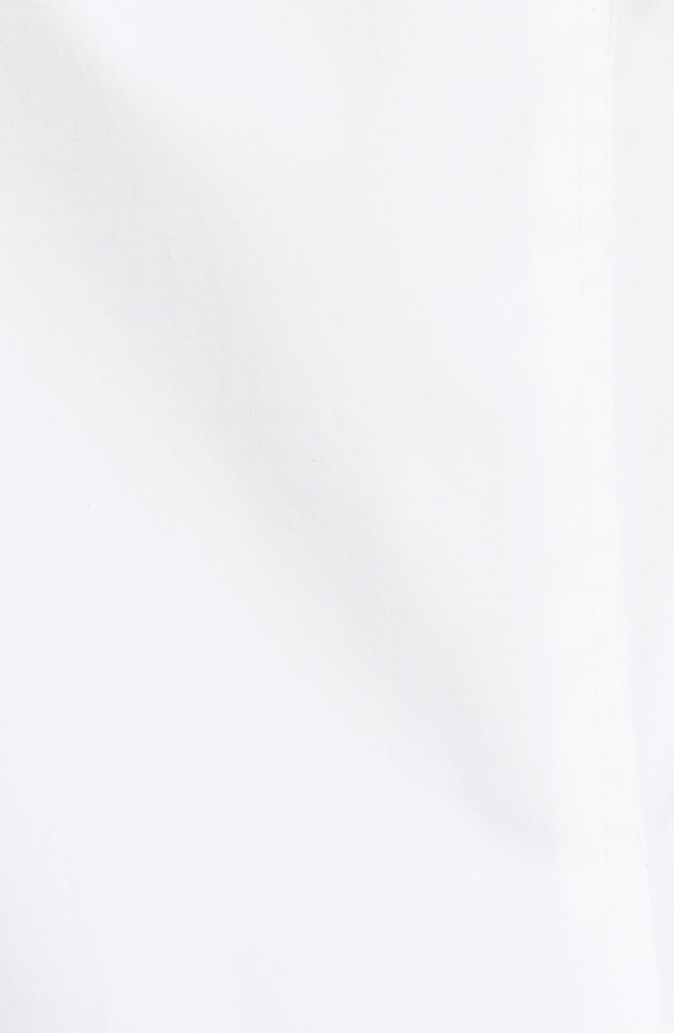 Doherty Stretch Cotton Sailor Shirt,                             Alternate thumbnail 5, color,                             100