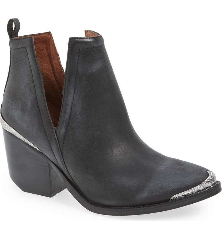Order Jeffrey Campbell Cromwell Cutout Western Boot (Women) Buy & Reviews