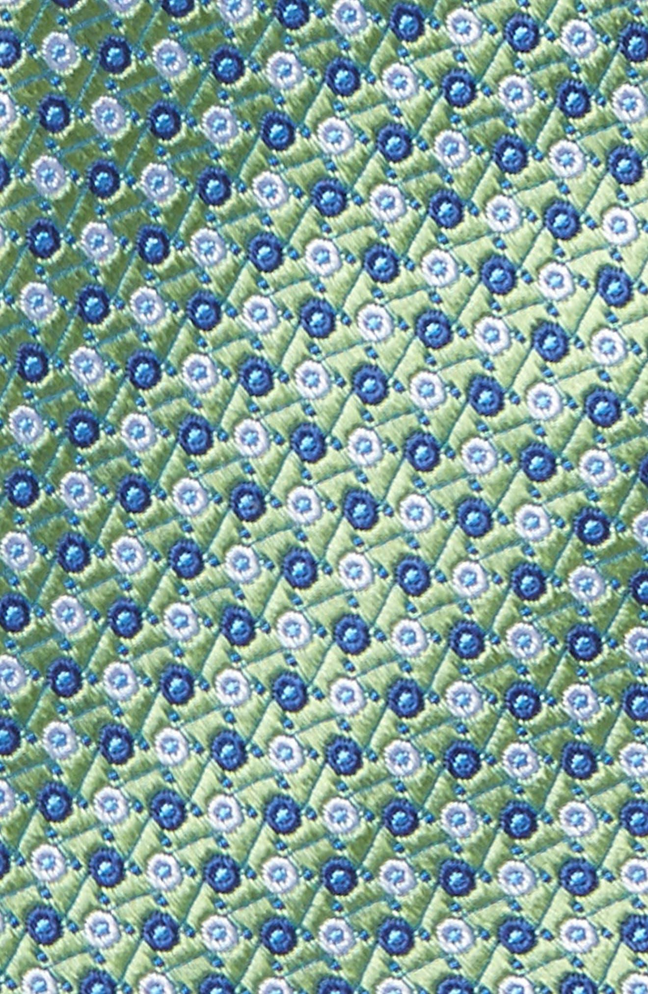 Dot Grid Silk Tie,                             Alternate thumbnail 2, color,                             300