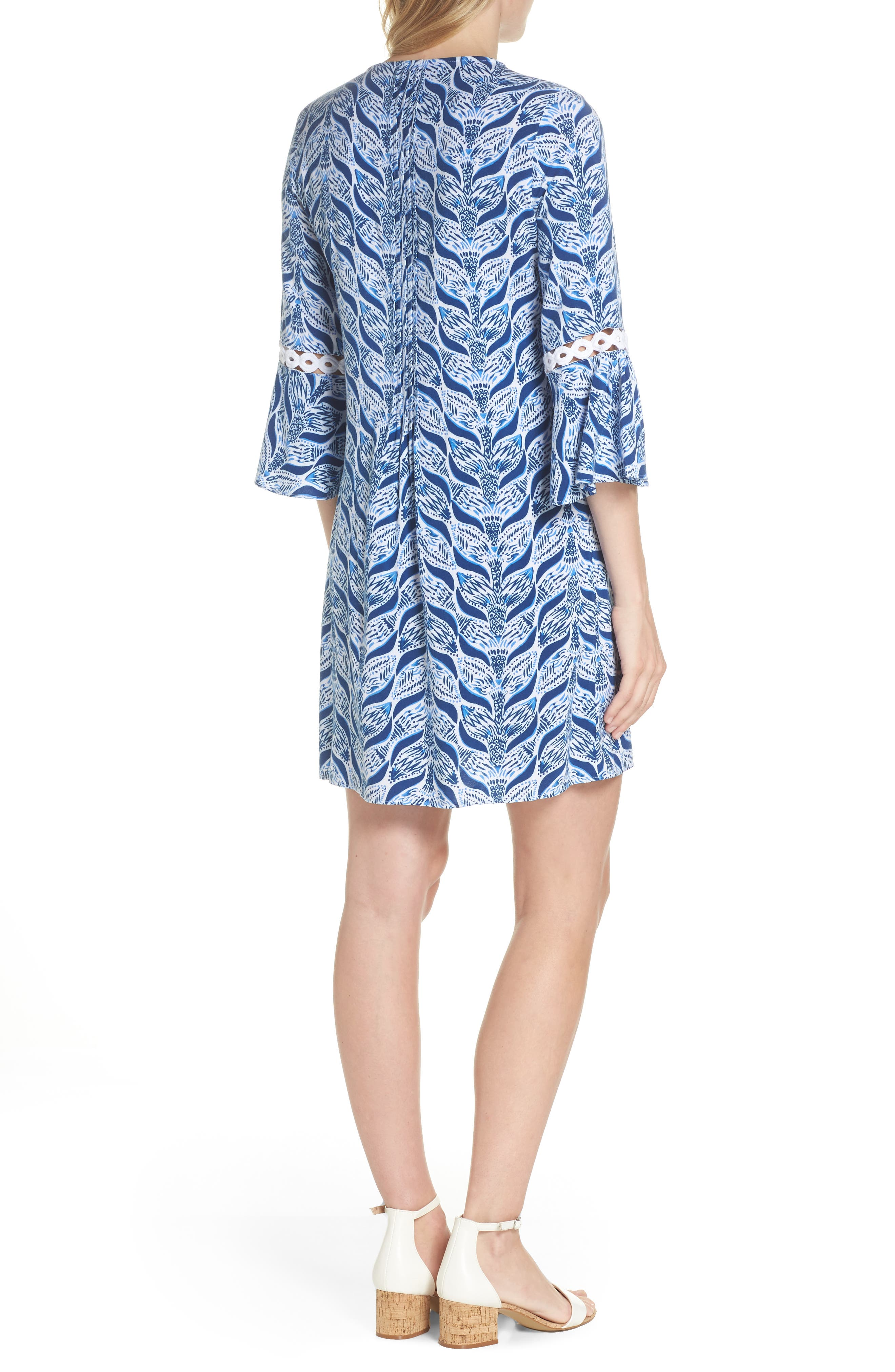 Hollie Tunic Dress,                             Alternate thumbnail 2, color,                             RESORT WHITE A MERMAIDS TAIL
