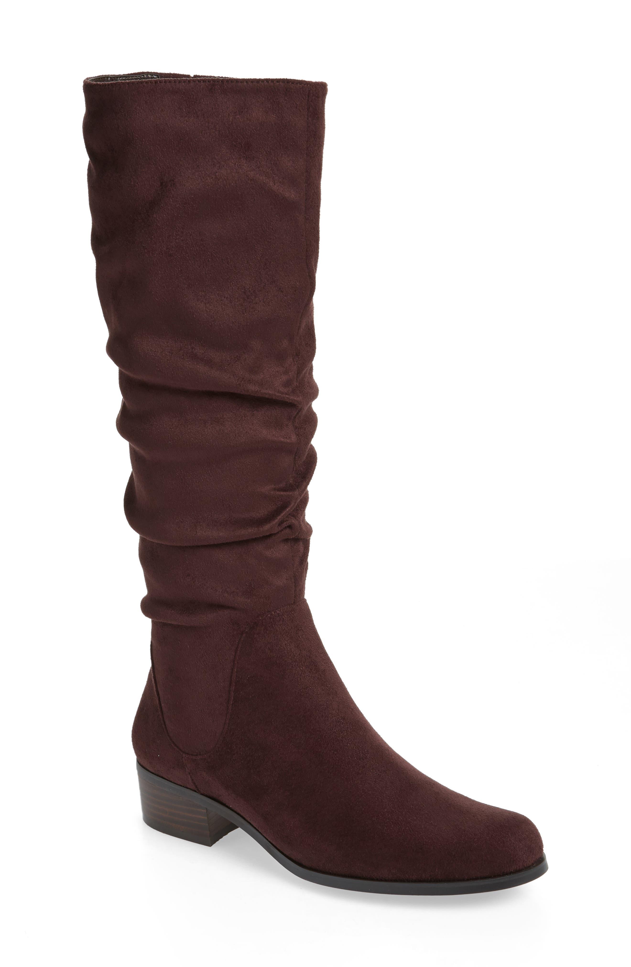 Charles By Charles David Guru Slouchy Knee High Boot- Brown