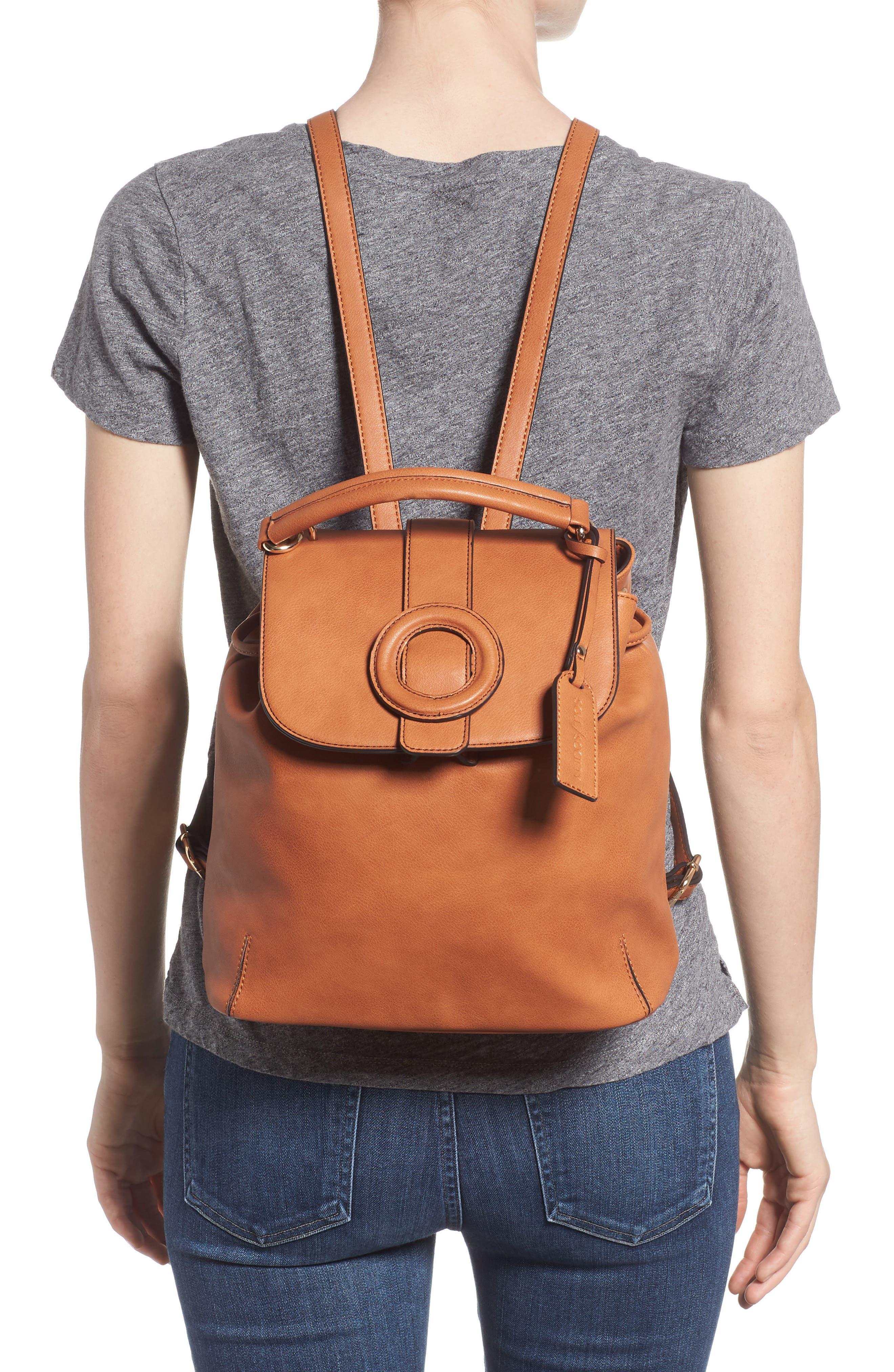 Buhck Backpack,                             Alternate thumbnail 2, color,                             COGNAC