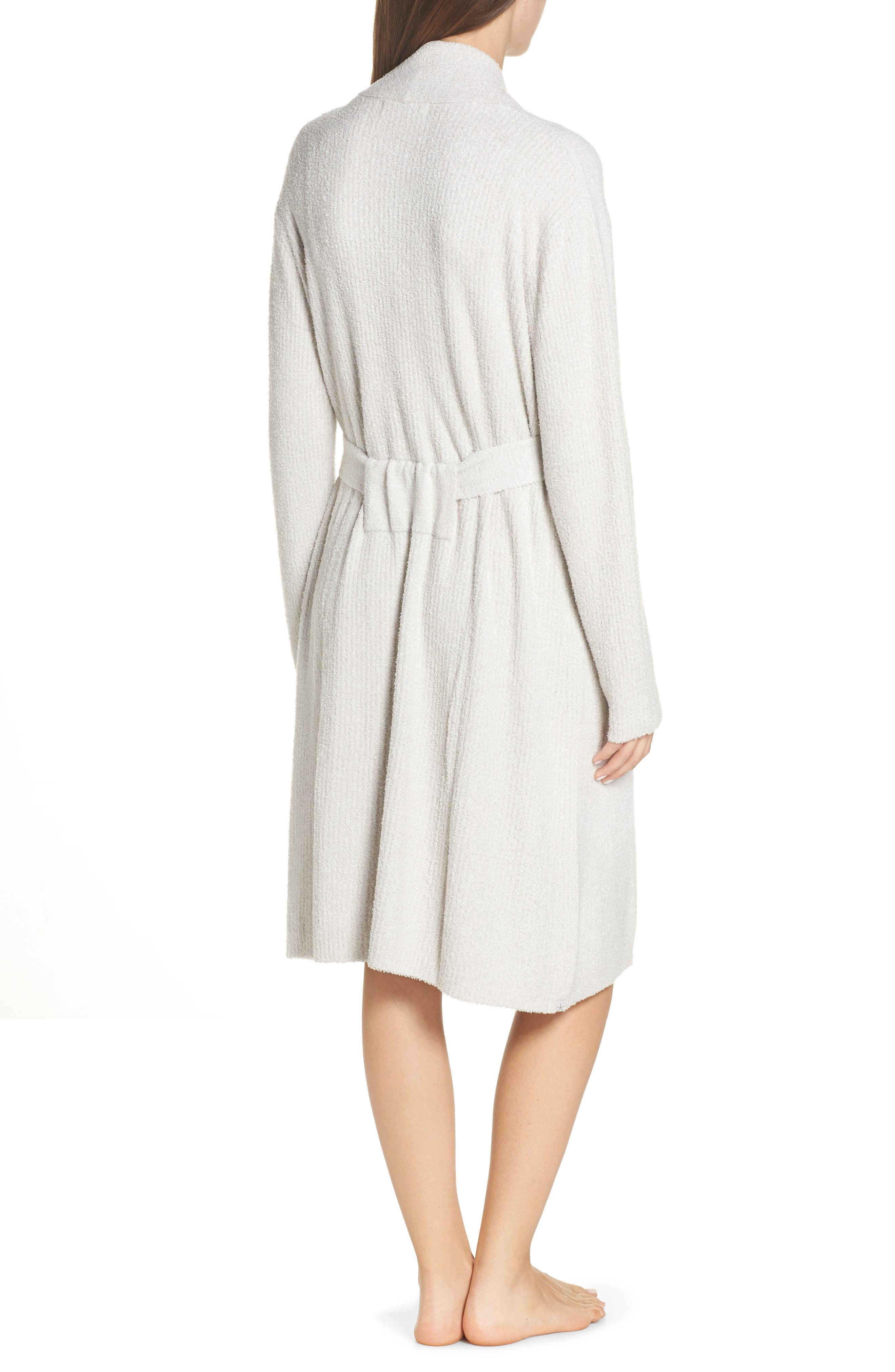 CozyChic<sup>™</sup> Ribbed Robe,                             Alternate thumbnail 2, color,                             SILVER/ PEARL- HE