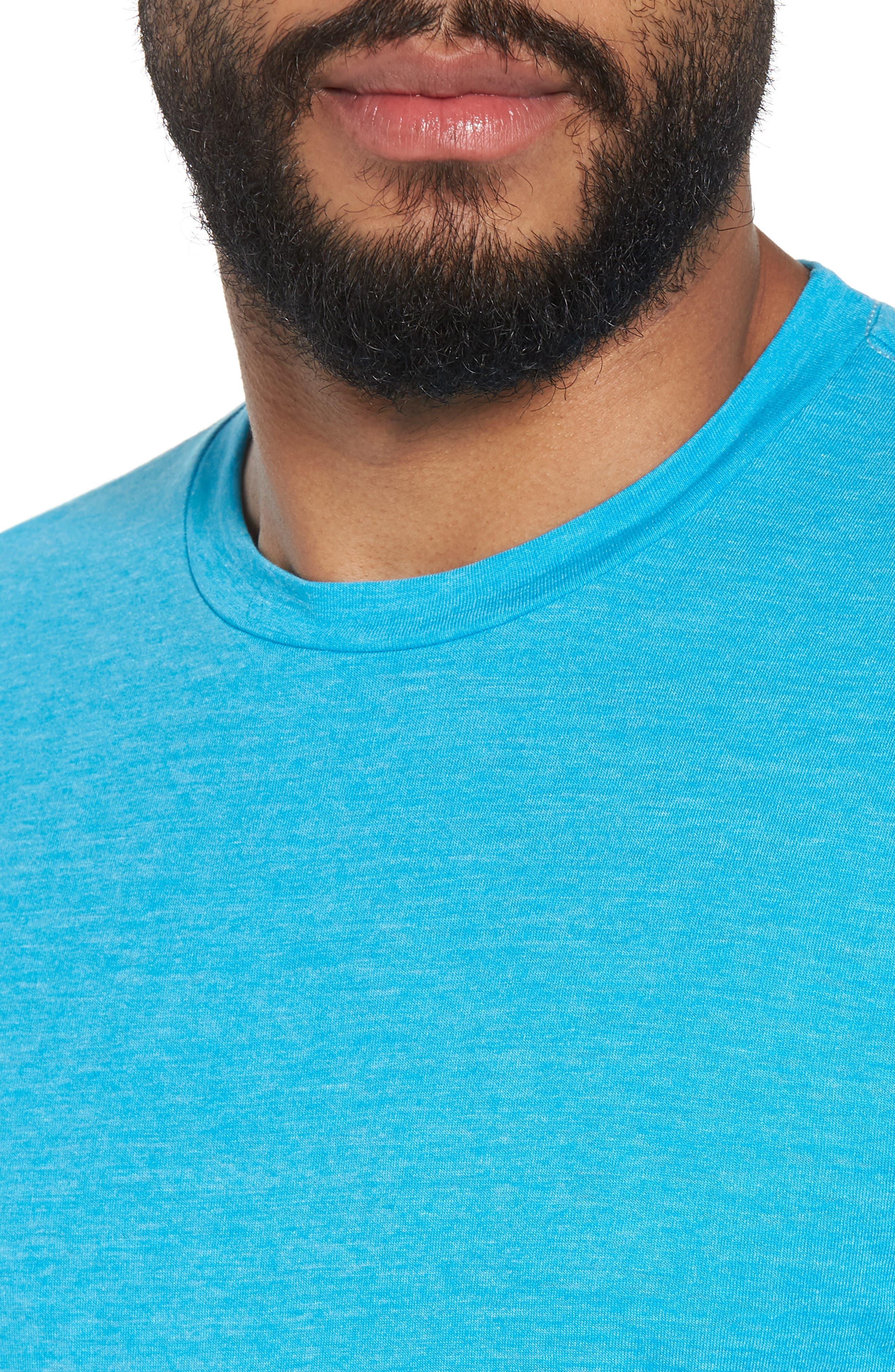 Scallop Triblend Crewneck T-Shirt,                             Alternate thumbnail 78, color,