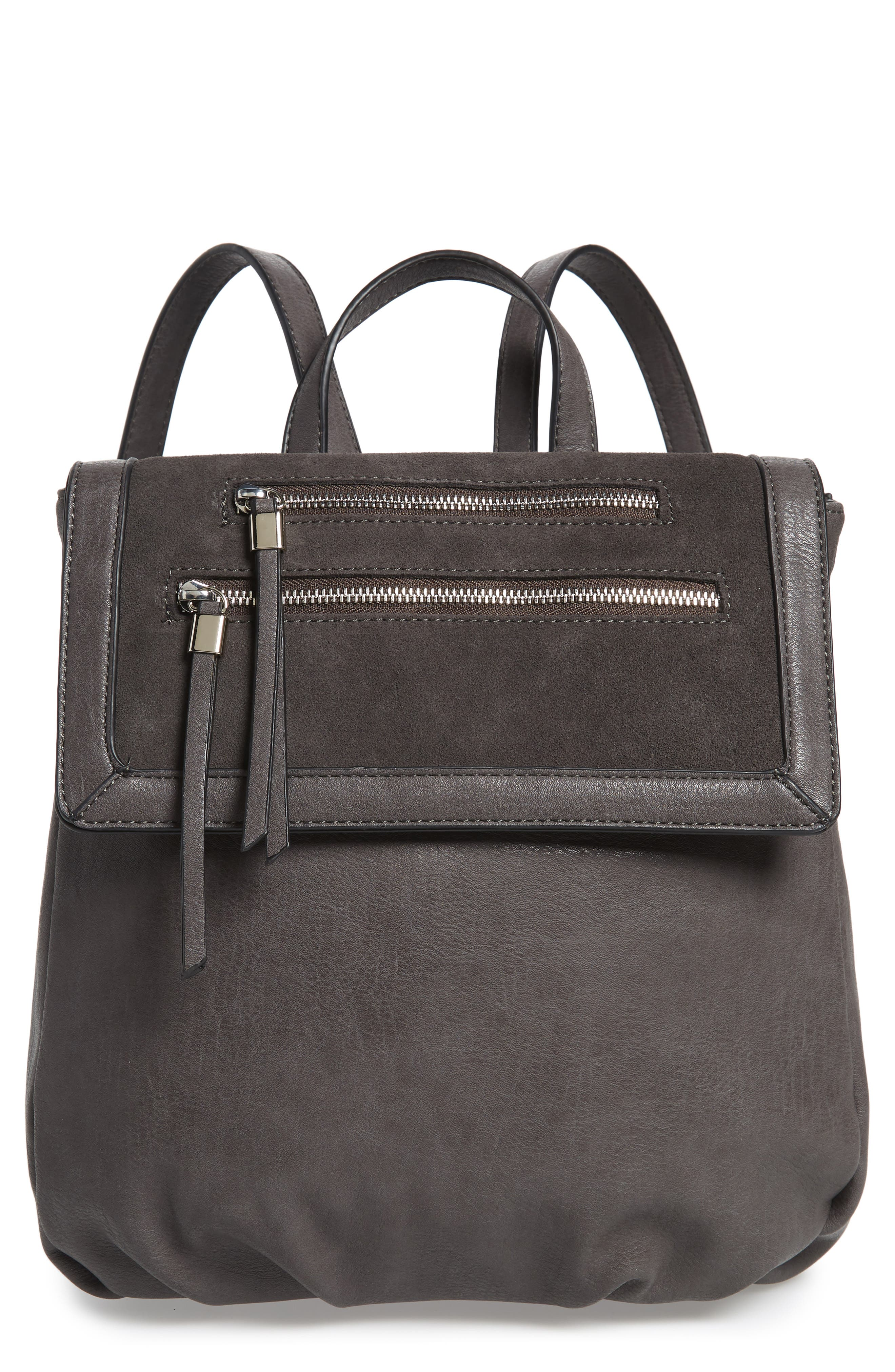 Chele Backpack,                         Main,                         color, DARK GREY