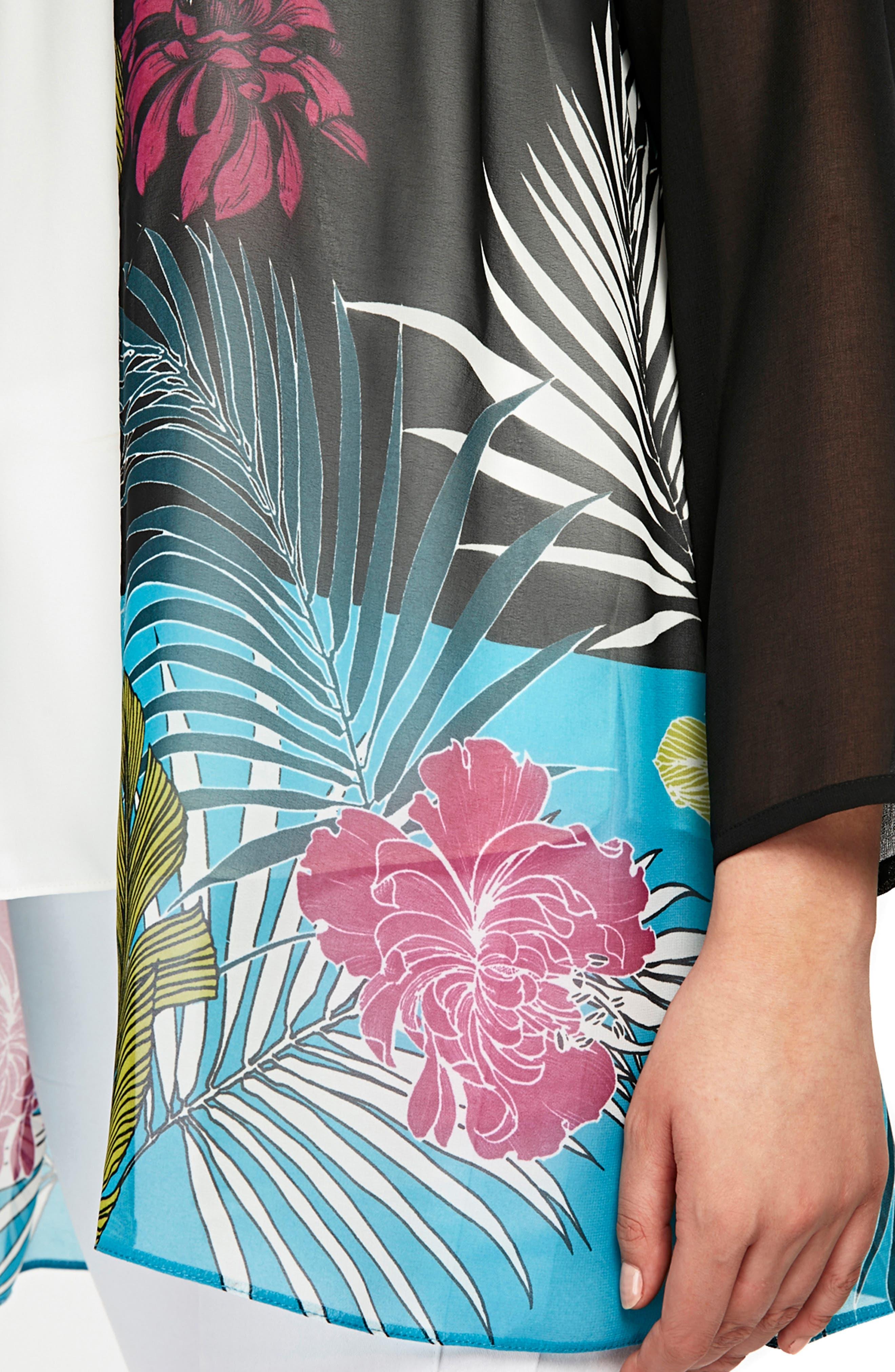 Tropical Kimono,                             Alternate thumbnail 3, color,                             001