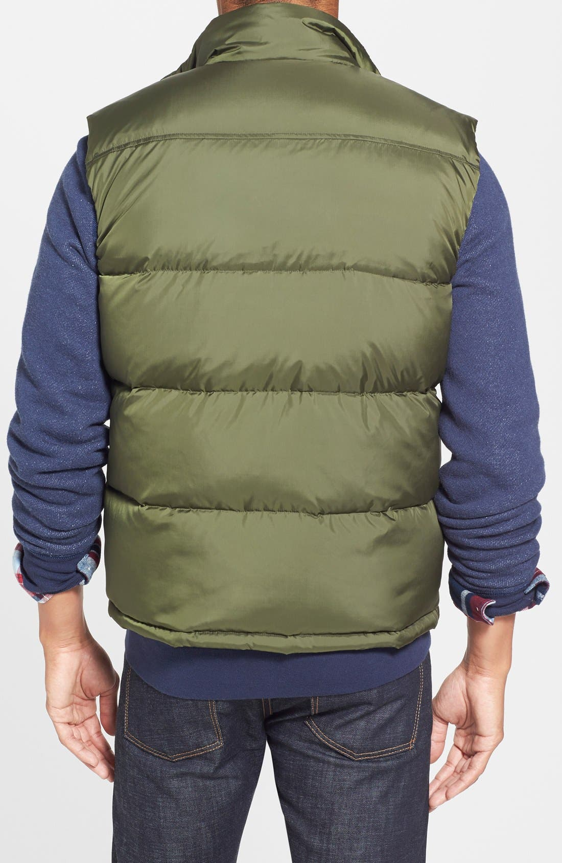 Down & Feather Fill Puffer Vest,                             Alternate thumbnail 2, color,                             389