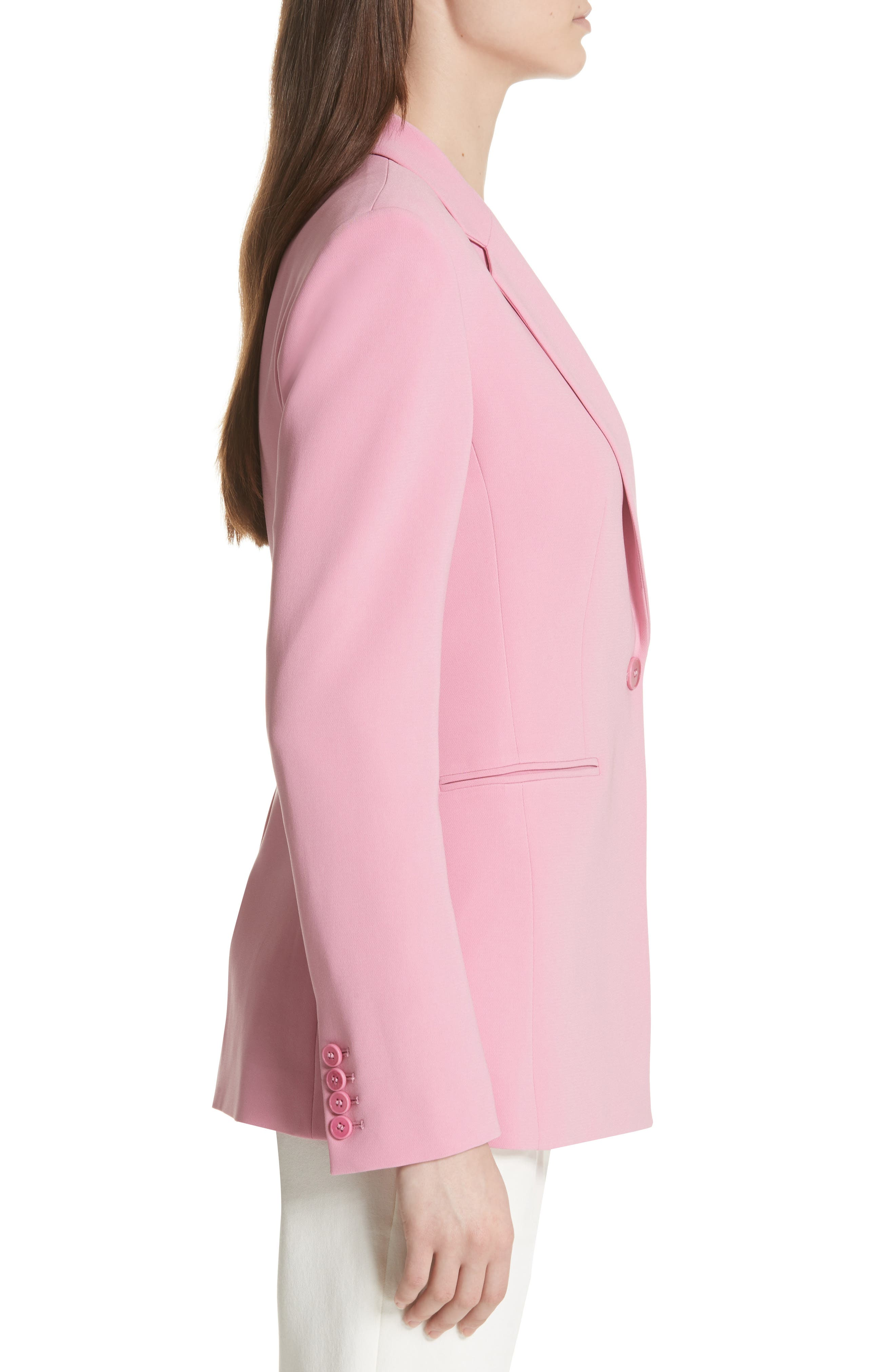 Admiral Crepe Power Jacket,                             Alternate thumbnail 6, color,