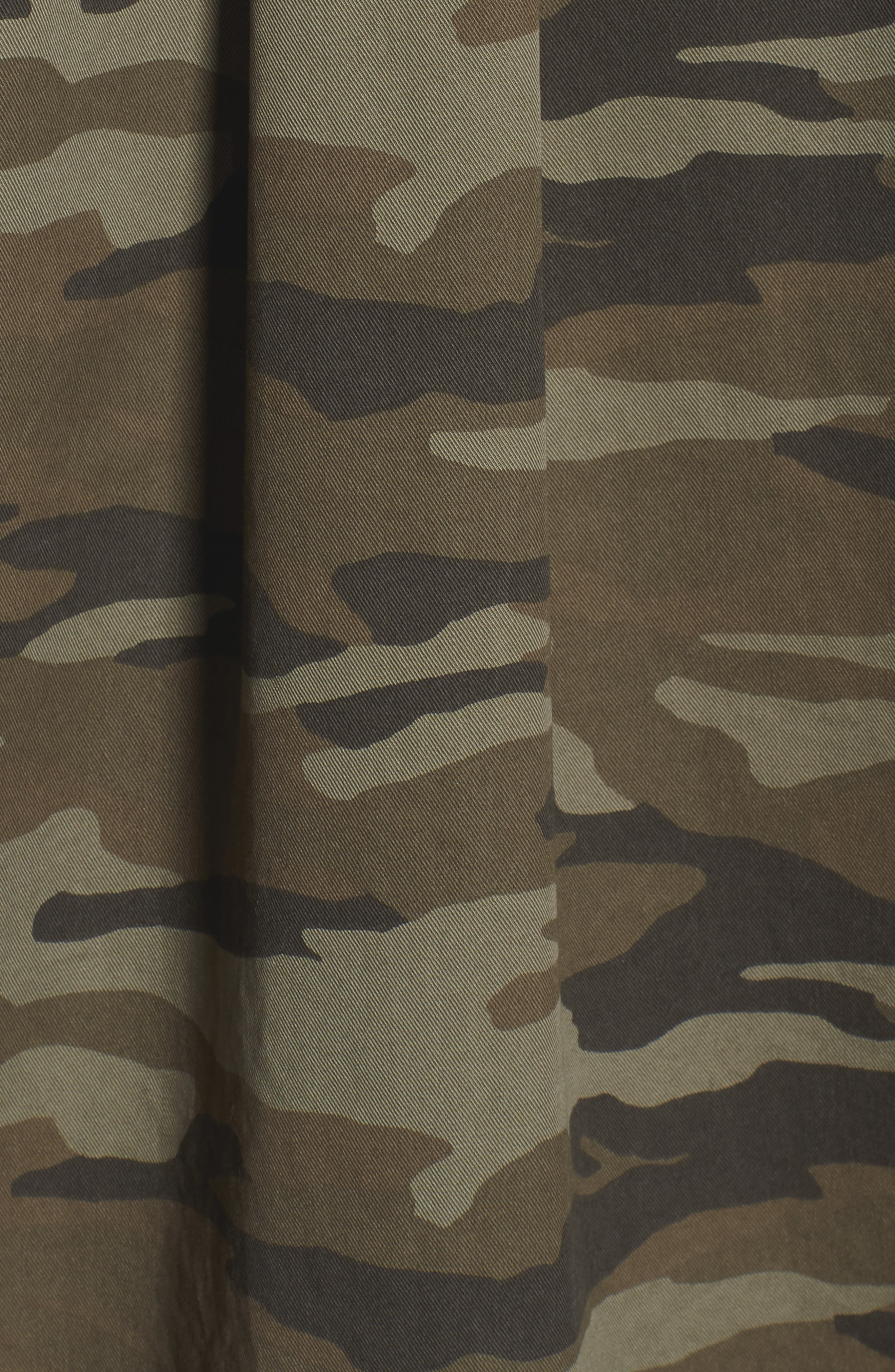 Utility Jacket,                             Alternate thumbnail 7, color,                             OLIVE CAMO PRINT