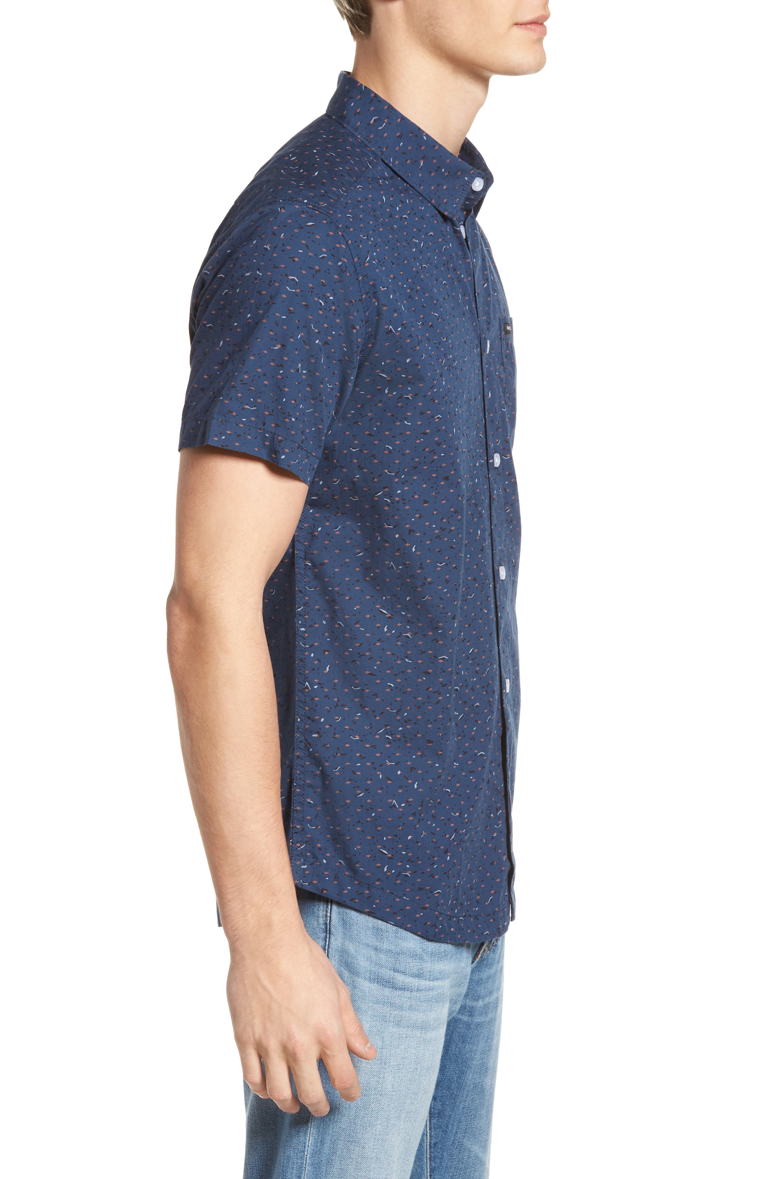 Jaded Woven Shirt,                             Alternate thumbnail 3, color,                             487
