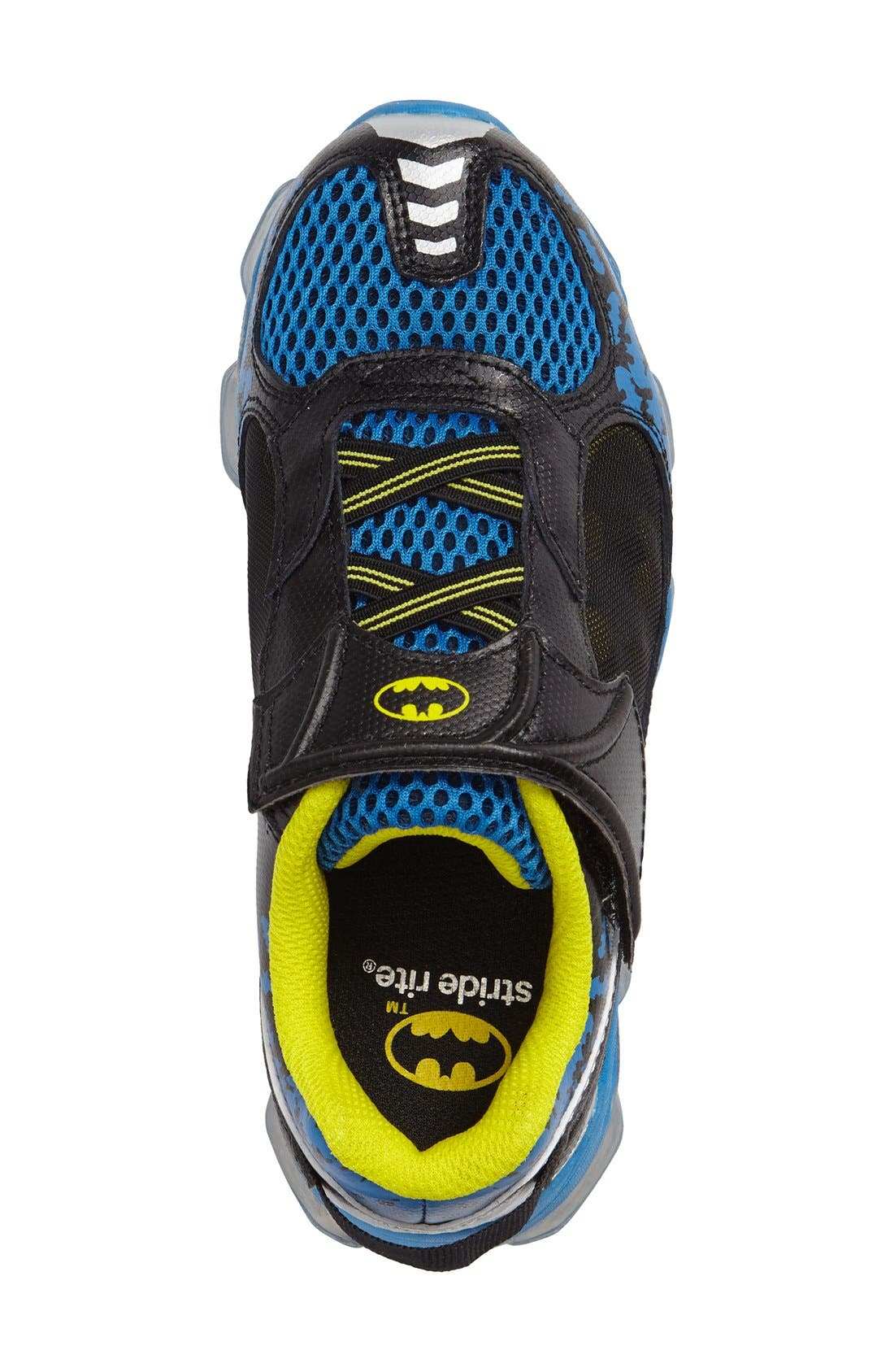 Batman<sup>™</sup> Light-Up Sneaker,                             Alternate thumbnail 5, color,                             410