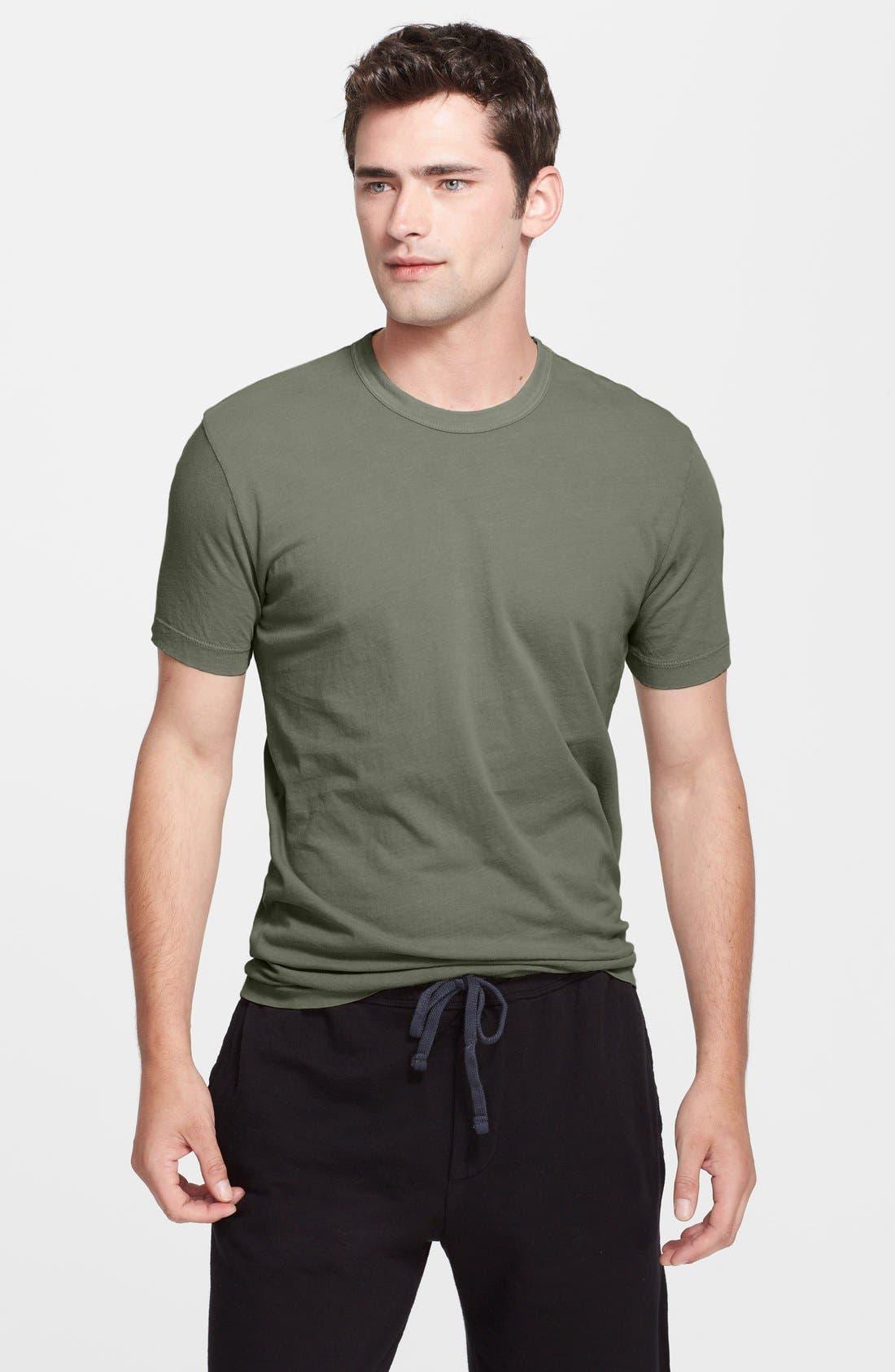 Crewneck Jersey T-Shirt,                             Main thumbnail 60, color,
