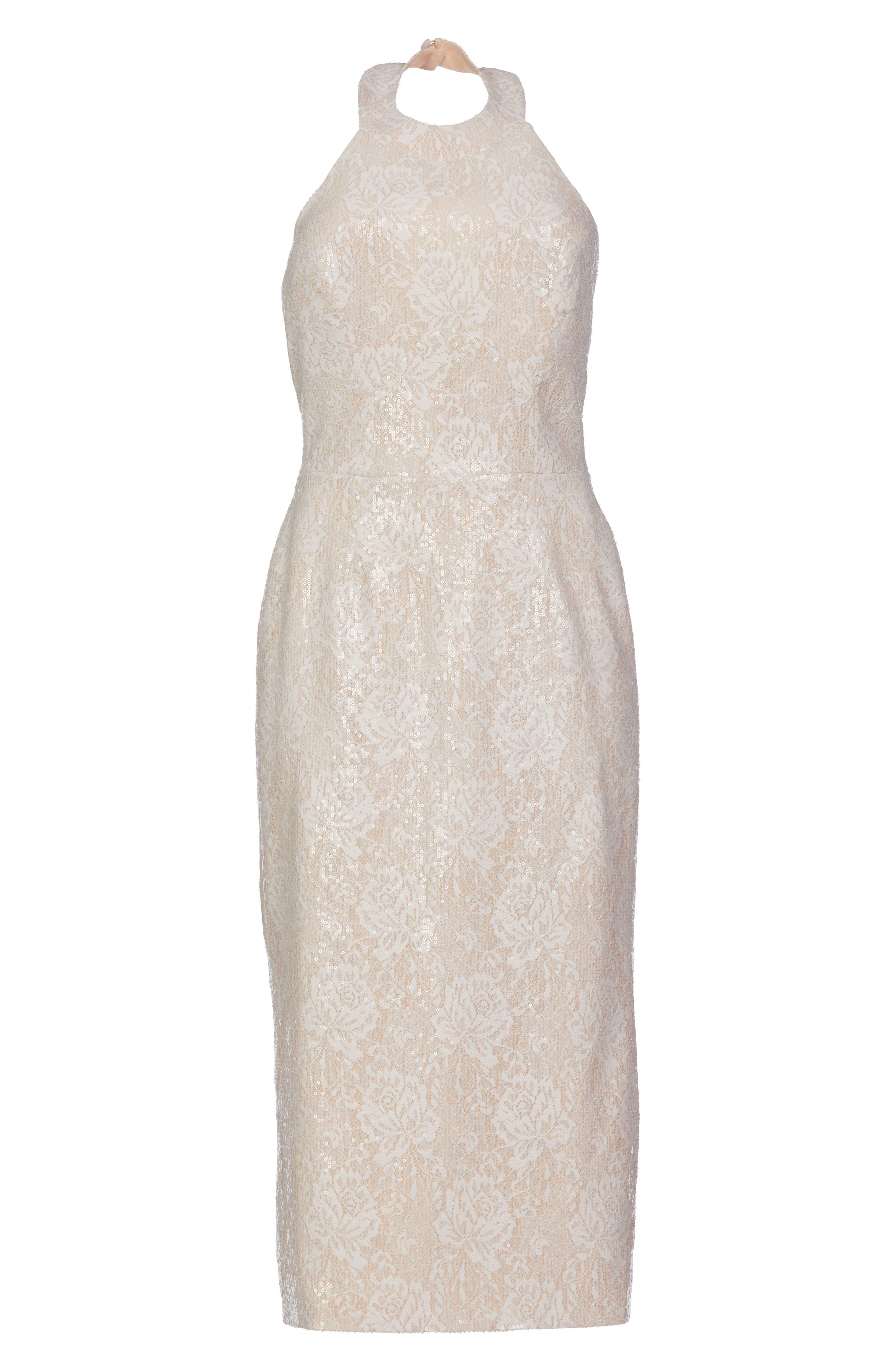 Cassie Sequin Midi Dress,                             Alternate thumbnail 27, color,