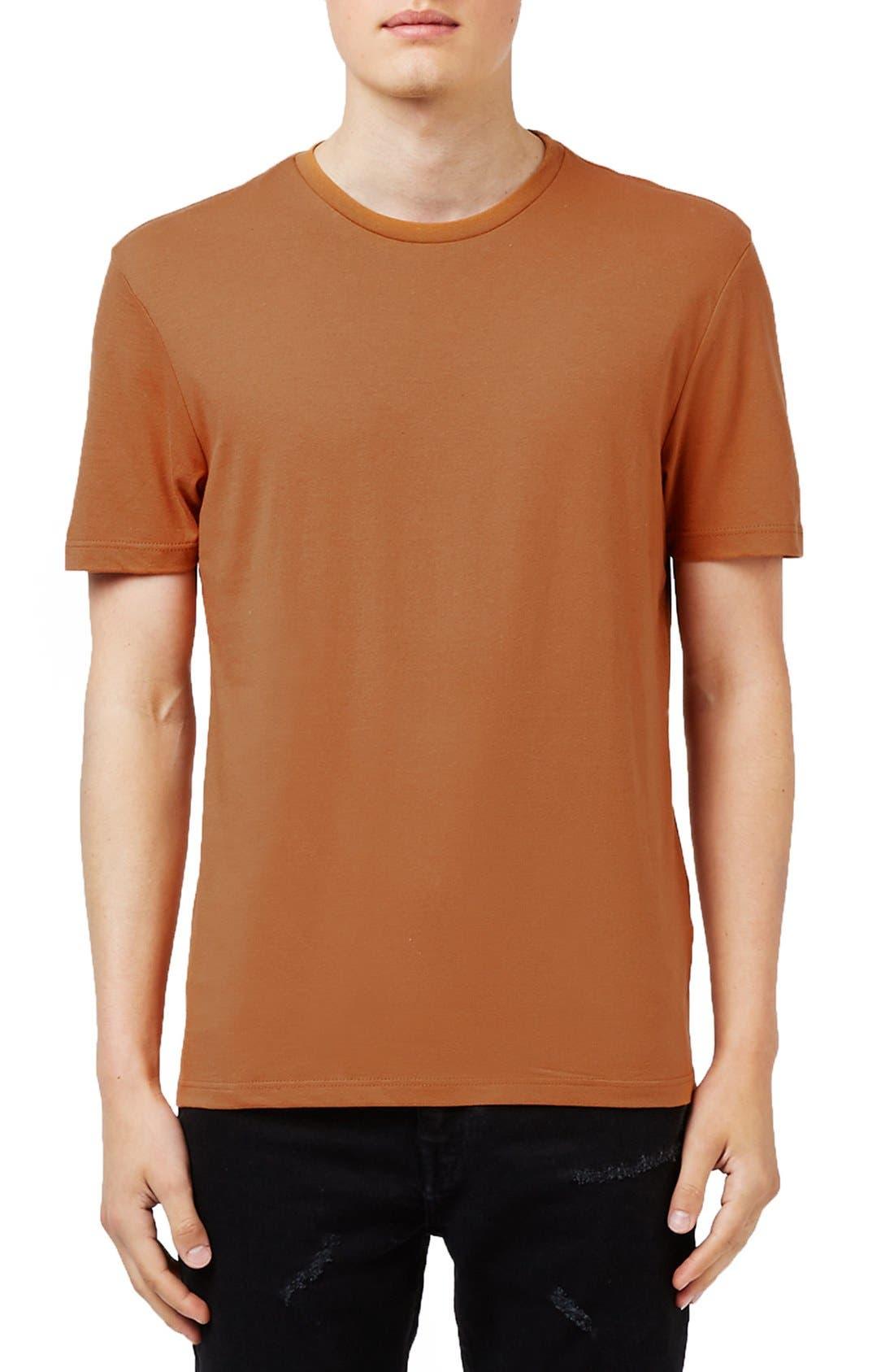 Slim Fit Crewneck T-Shirt,                             Main thumbnail 41, color,