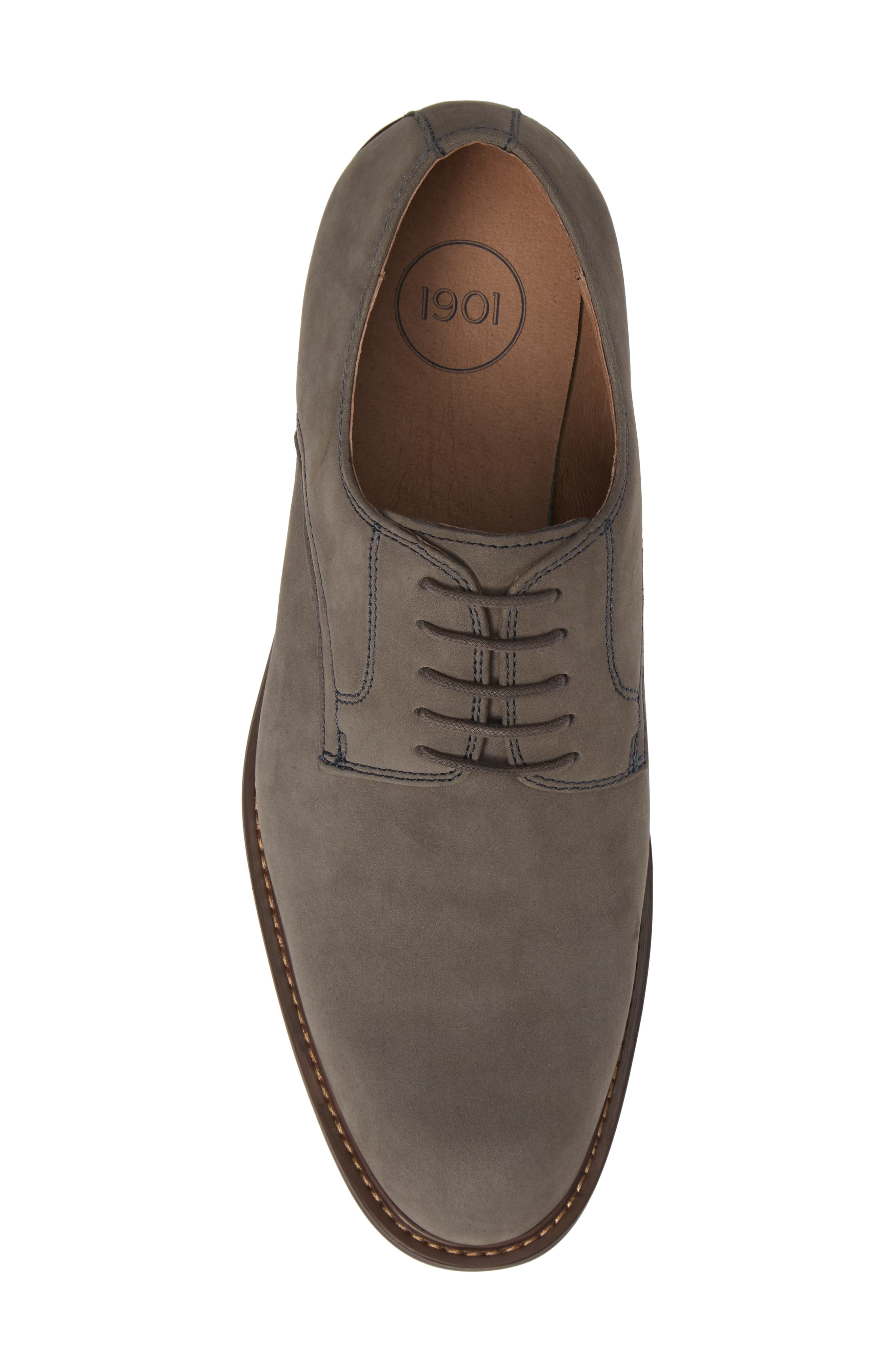 Richland Buck Shoe,                             Alternate thumbnail 5, color,                             GREY SUEDE