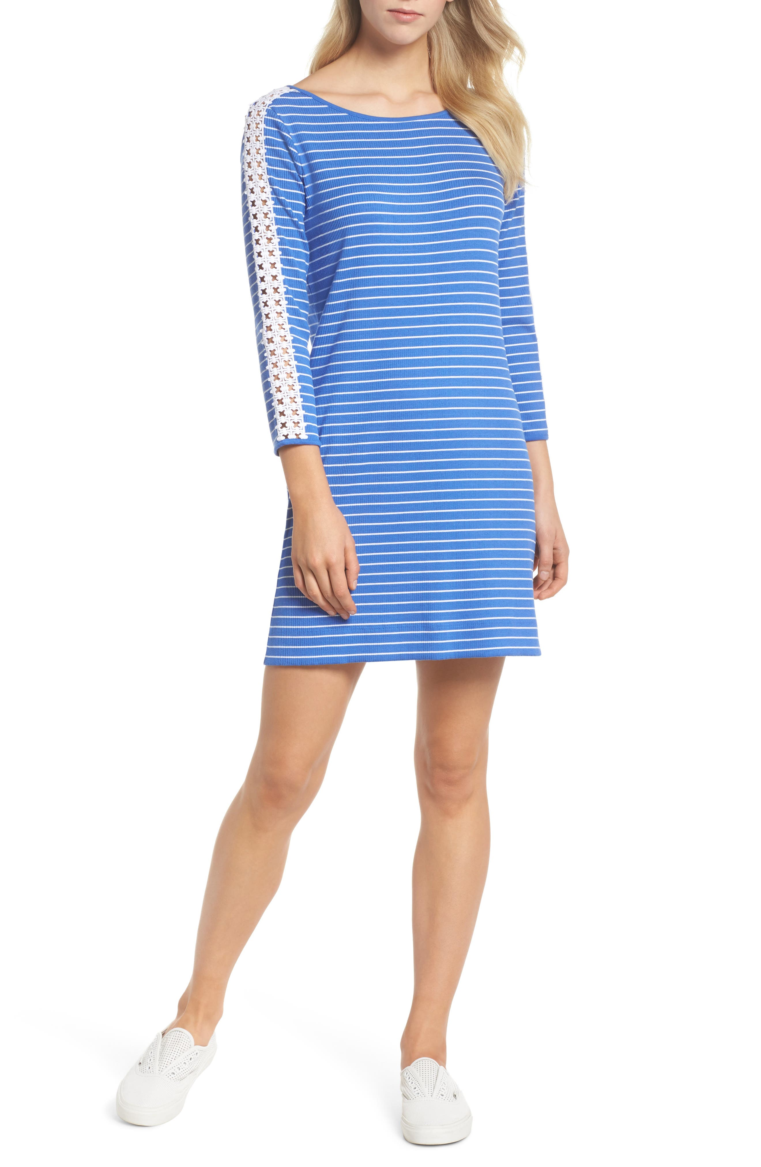 Marlowe Shift Dress,                             Alternate thumbnail 5, color,                             400