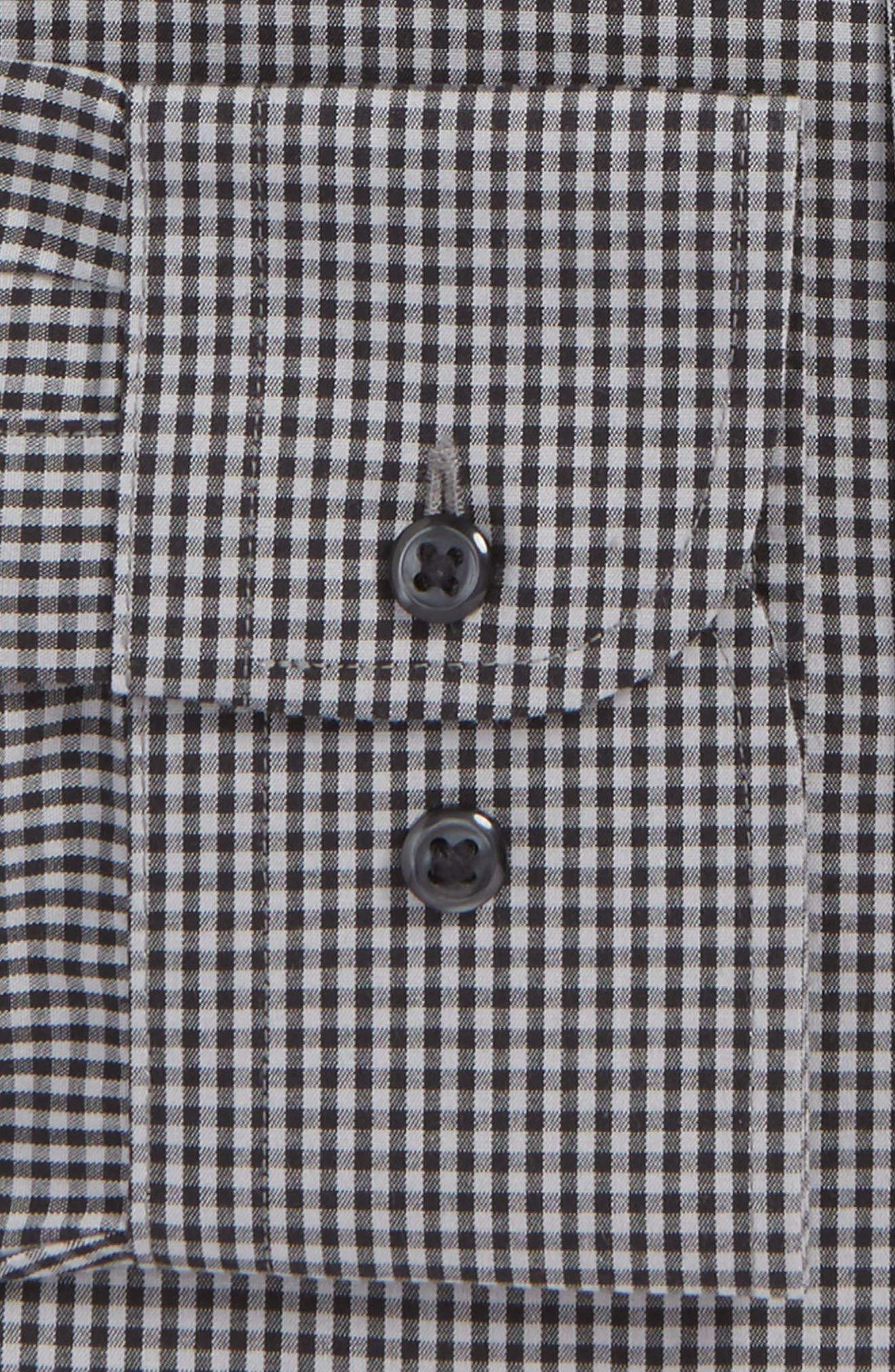 Smartcare Classic Fit Check Dress Shirt,                             Alternate thumbnail 21, color,