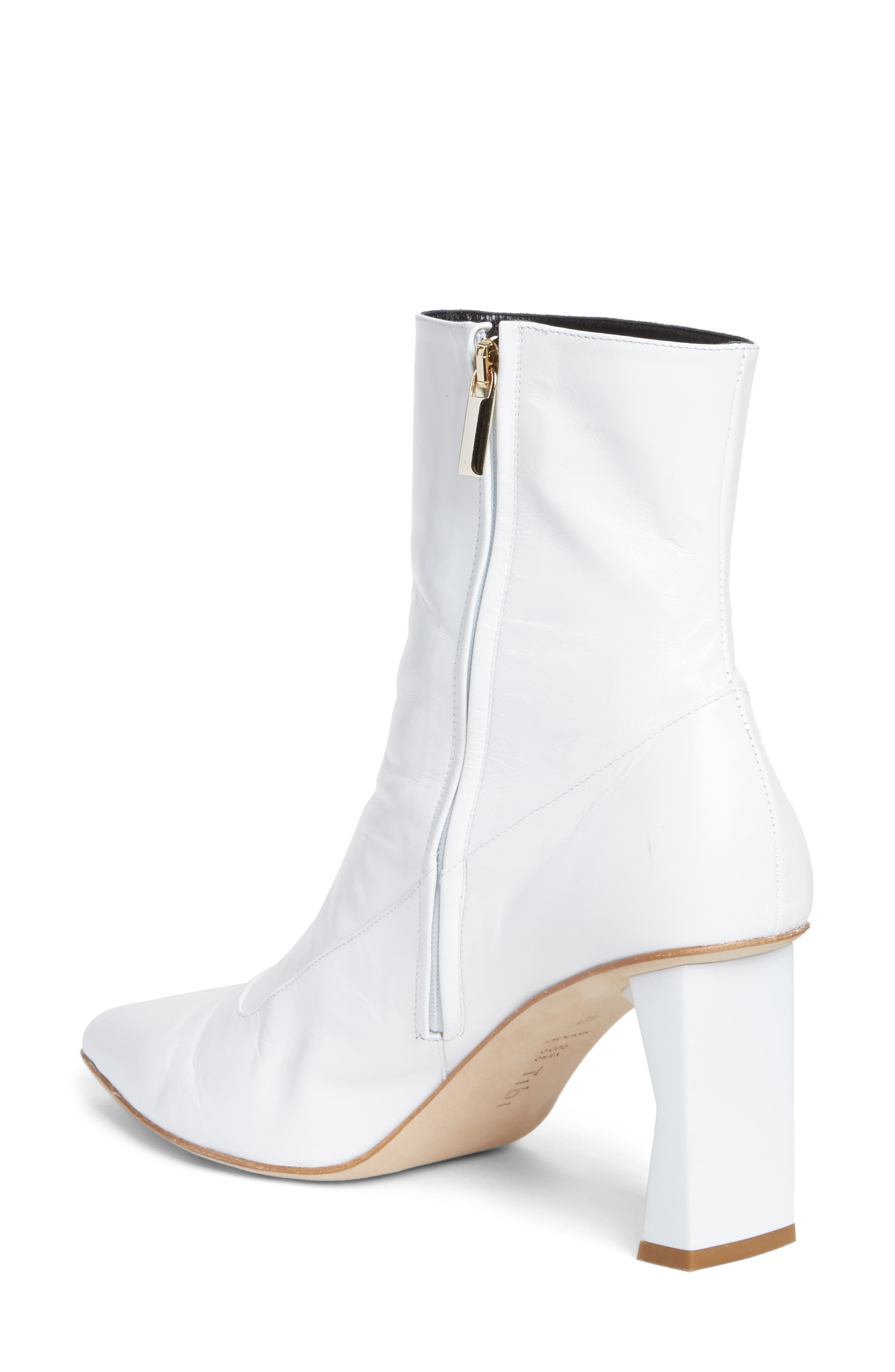Alexis Pointy Toe Bootie,                             Alternate thumbnail 2, color,                             100