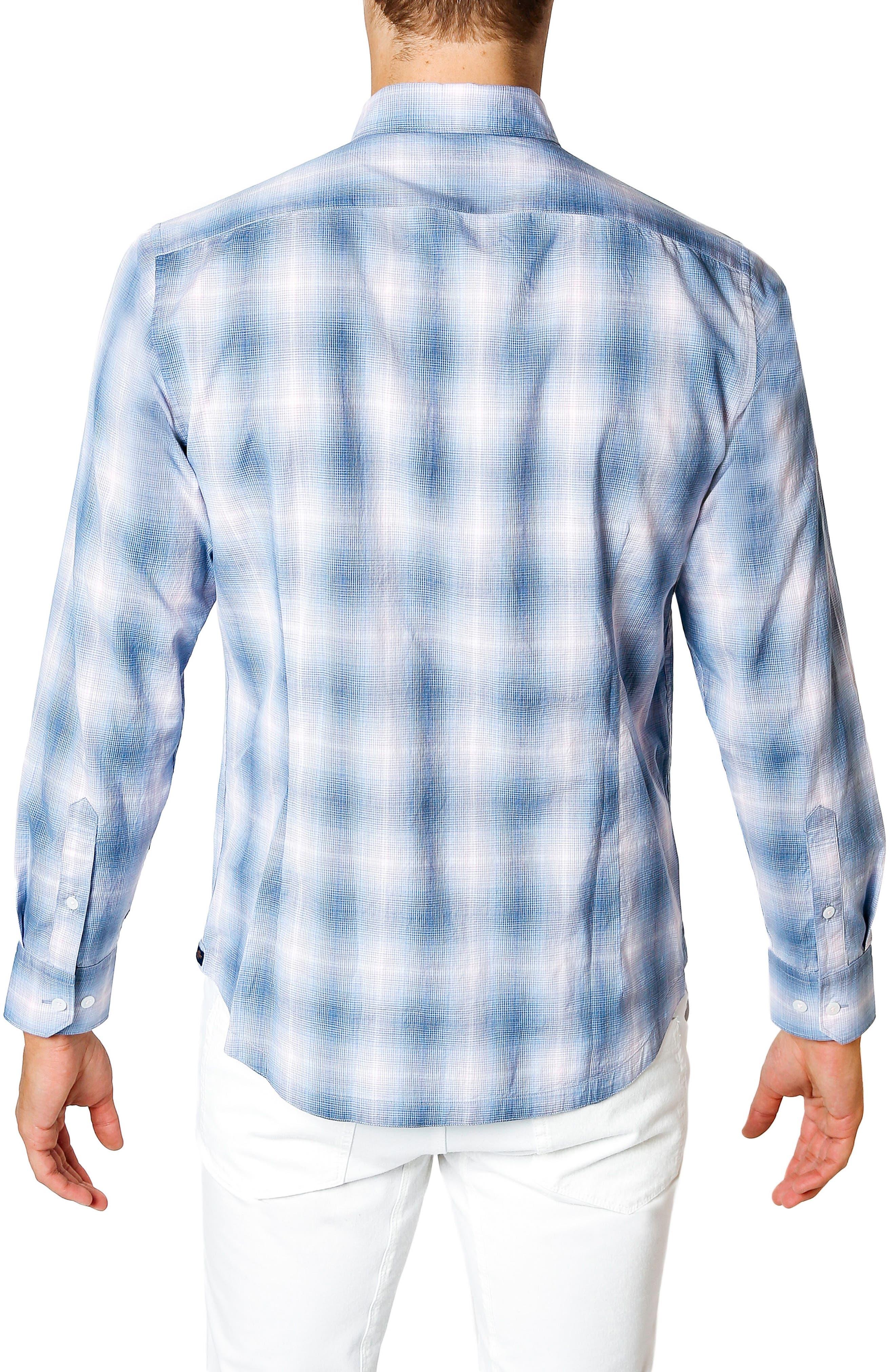 Sunset Slim Fit Sport Shirt,                             Alternate thumbnail 2, color,