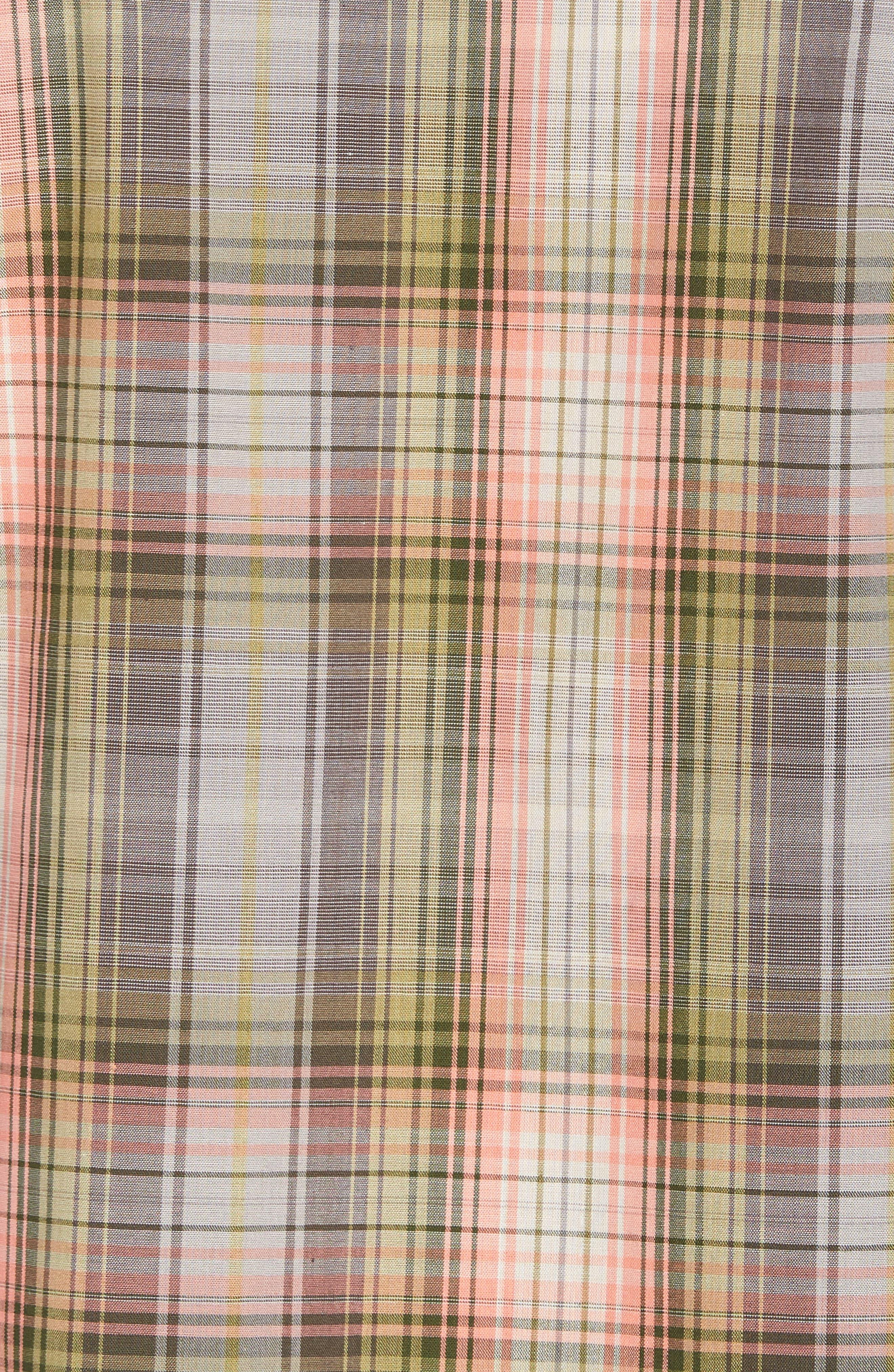 Frontier Regular Fit Plaid Short Sleeve Sport Shirt,                             Alternate thumbnail 9, color,