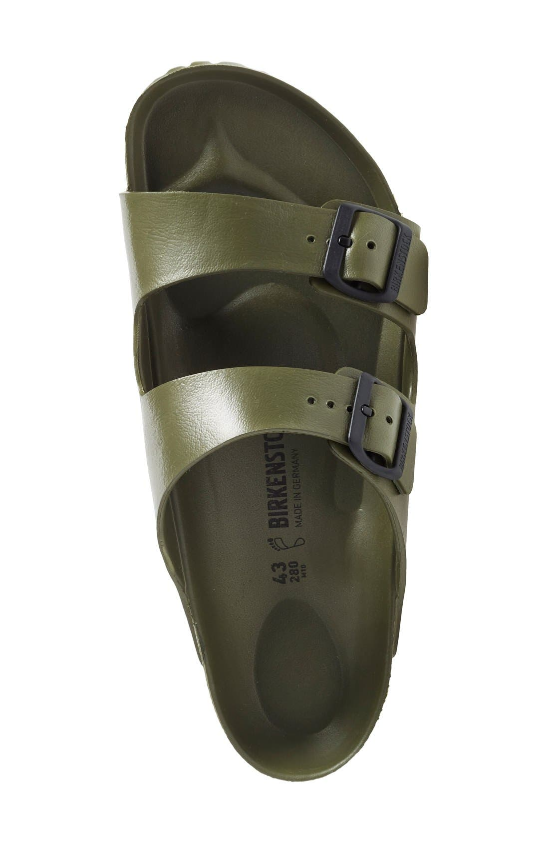 'Essentials - Arizona EVA' Waterproof Slide Sandal,                             Alternate thumbnail 9, color,                             GREEN