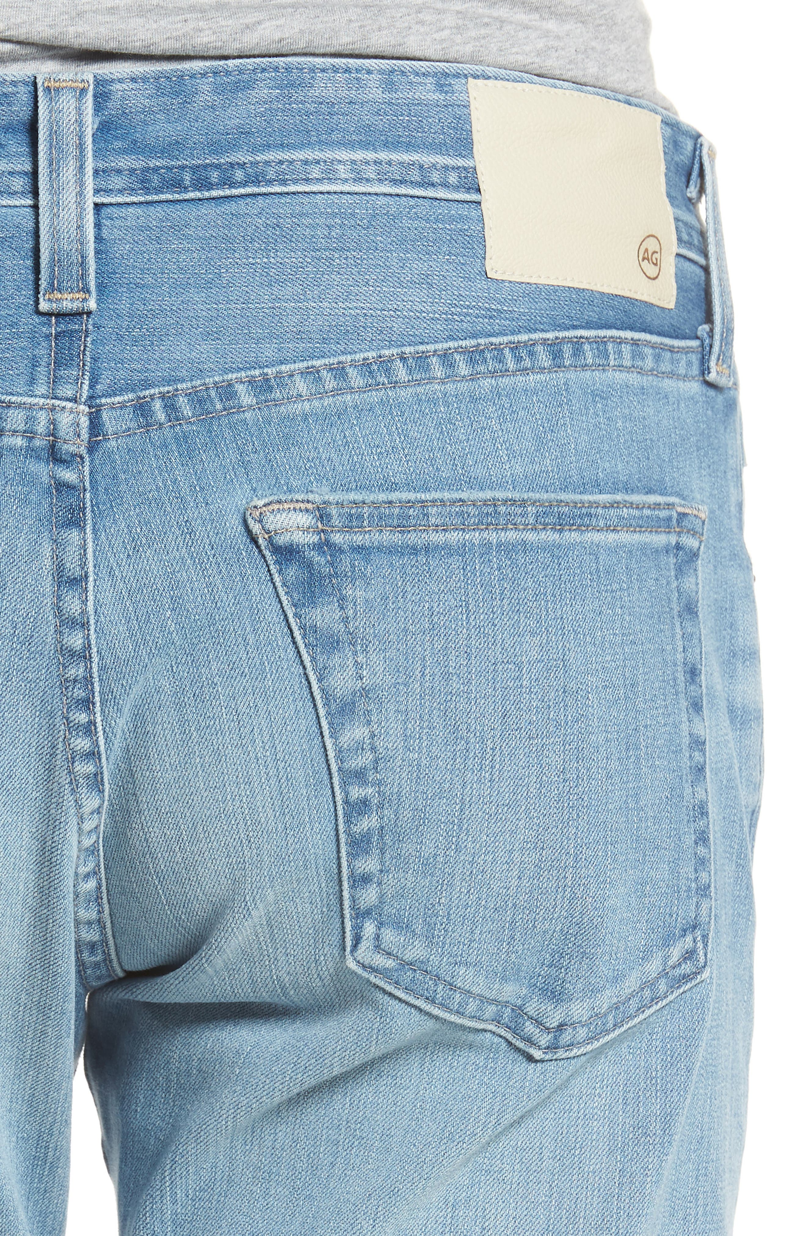 AG,                             Tellis Slim Fit Jeans,                             Alternate thumbnail 4, color,                             498