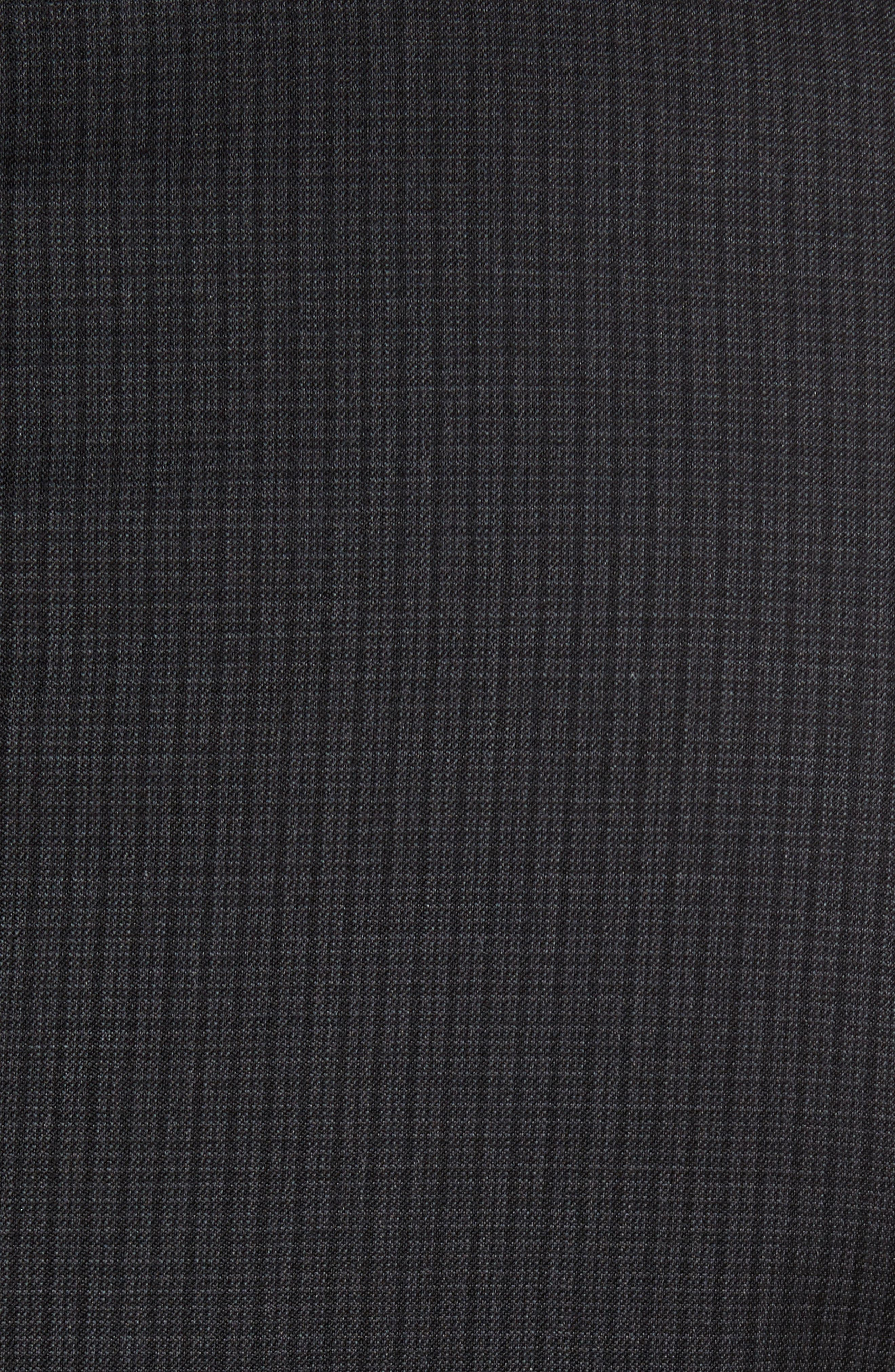 Classic Fit Check Wool Suit,                             Alternate thumbnail 7, color,                             001
