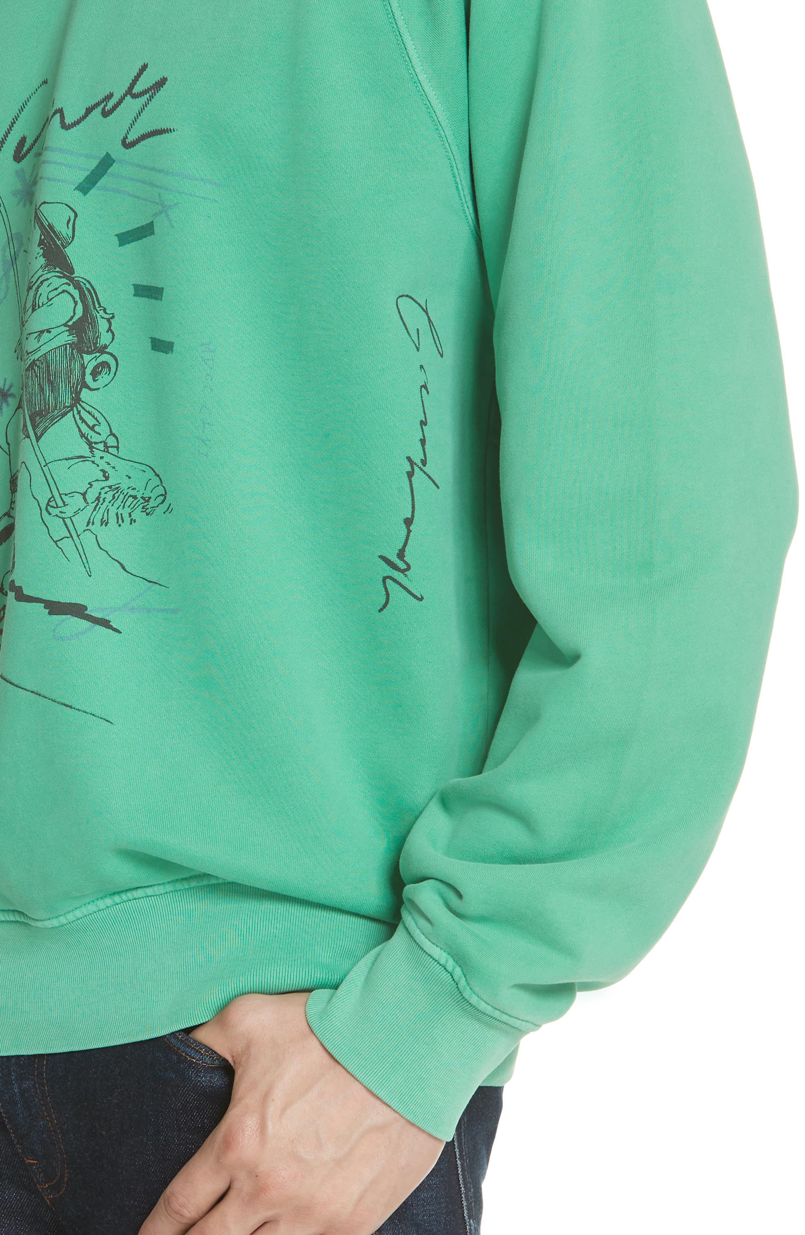 Harnett Graphic Sweatshirt,                             Alternate thumbnail 4, color,                             329