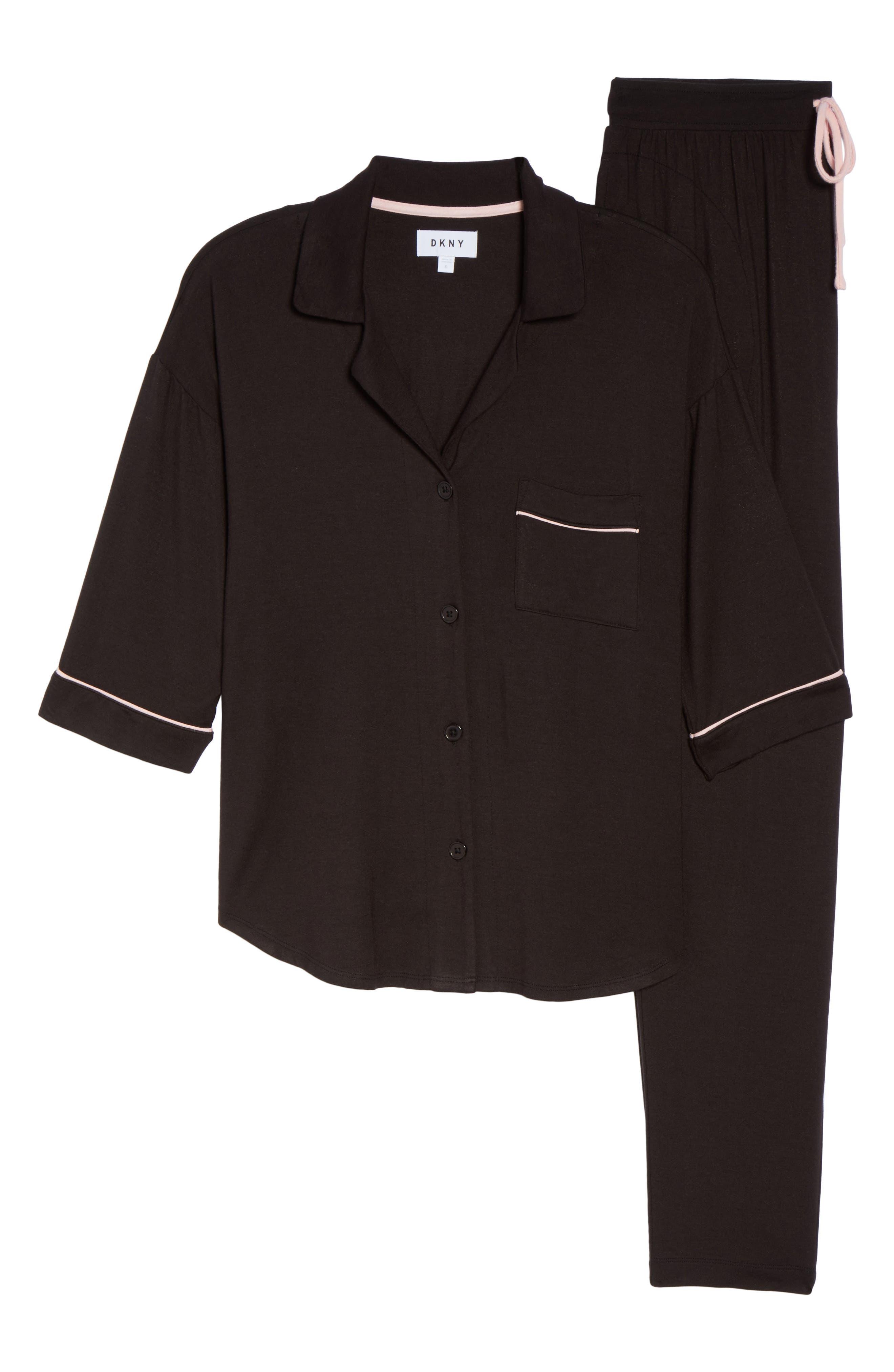 Jersey Pajamas,                             Alternate thumbnail 6, color,                             001