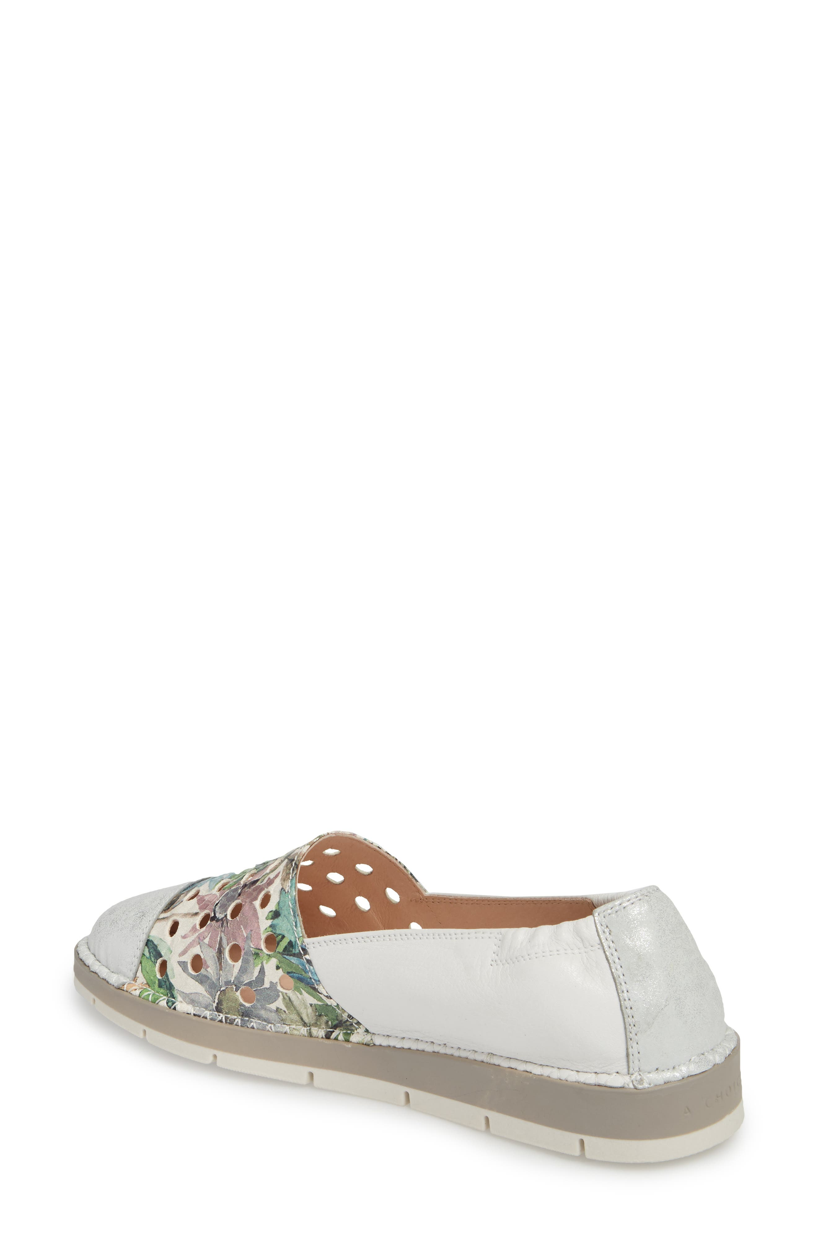 Maiko Flat,                             Alternate thumbnail 2, color,                             STAR SILVER/ BLOSSOM LEATHER