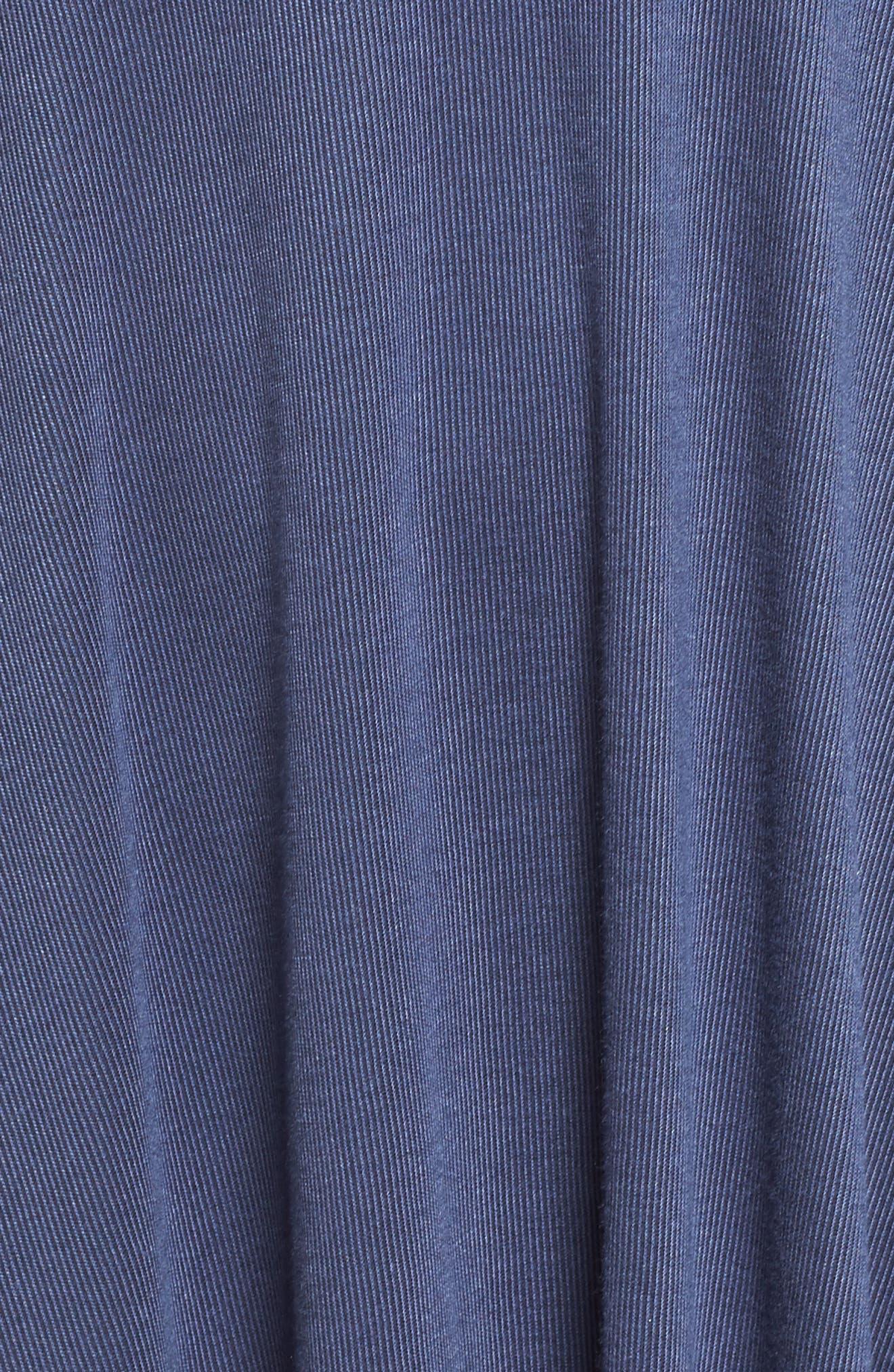 Flutter Sleeve Knit Dress,                             Alternate thumbnail 5, color,                             420