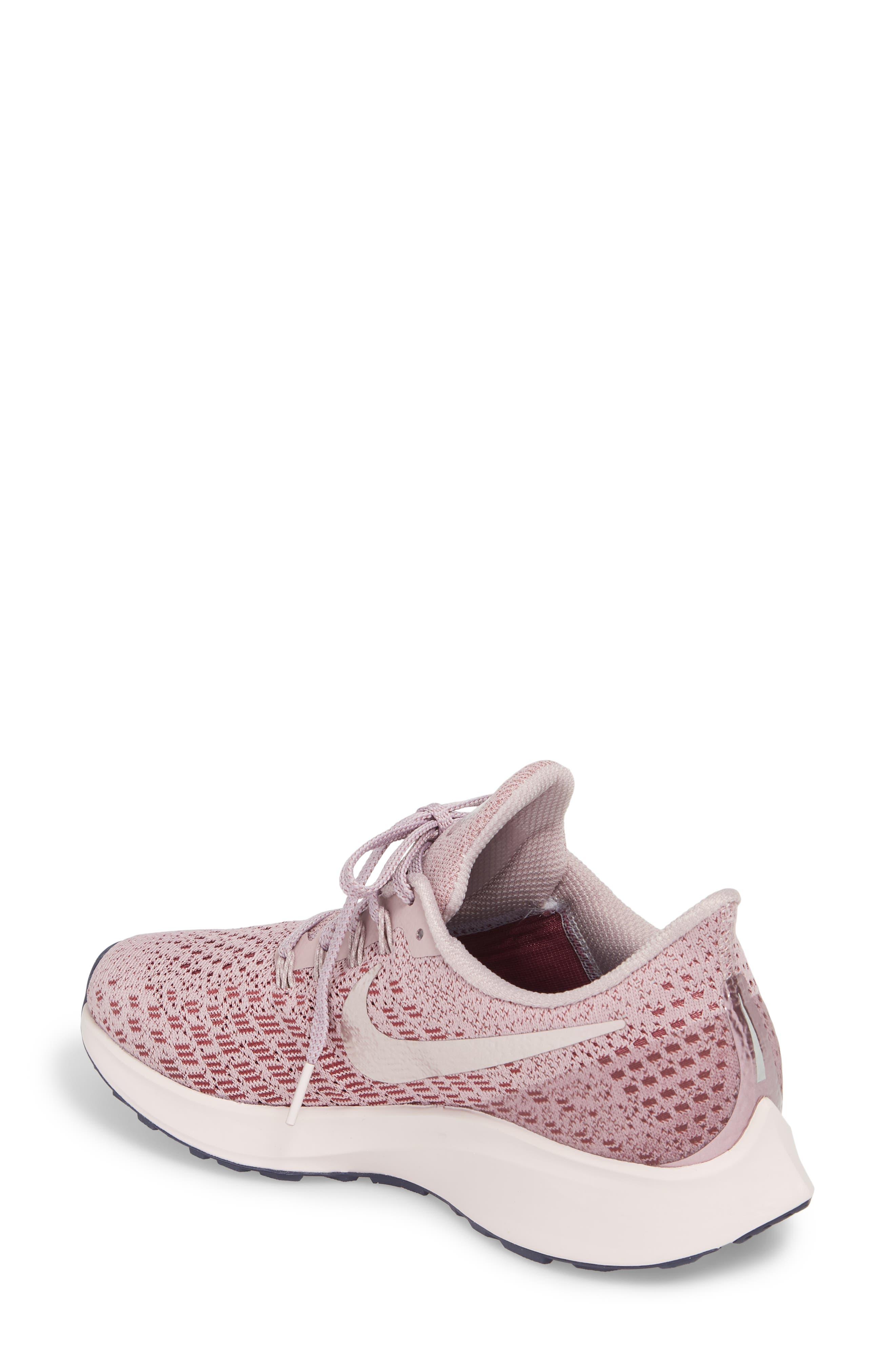 Air Zoom Pegasus 35 Running Shoe,                             Alternate thumbnail 2, color,                             ELEMENTAL ROSE/ BARELY ROSE