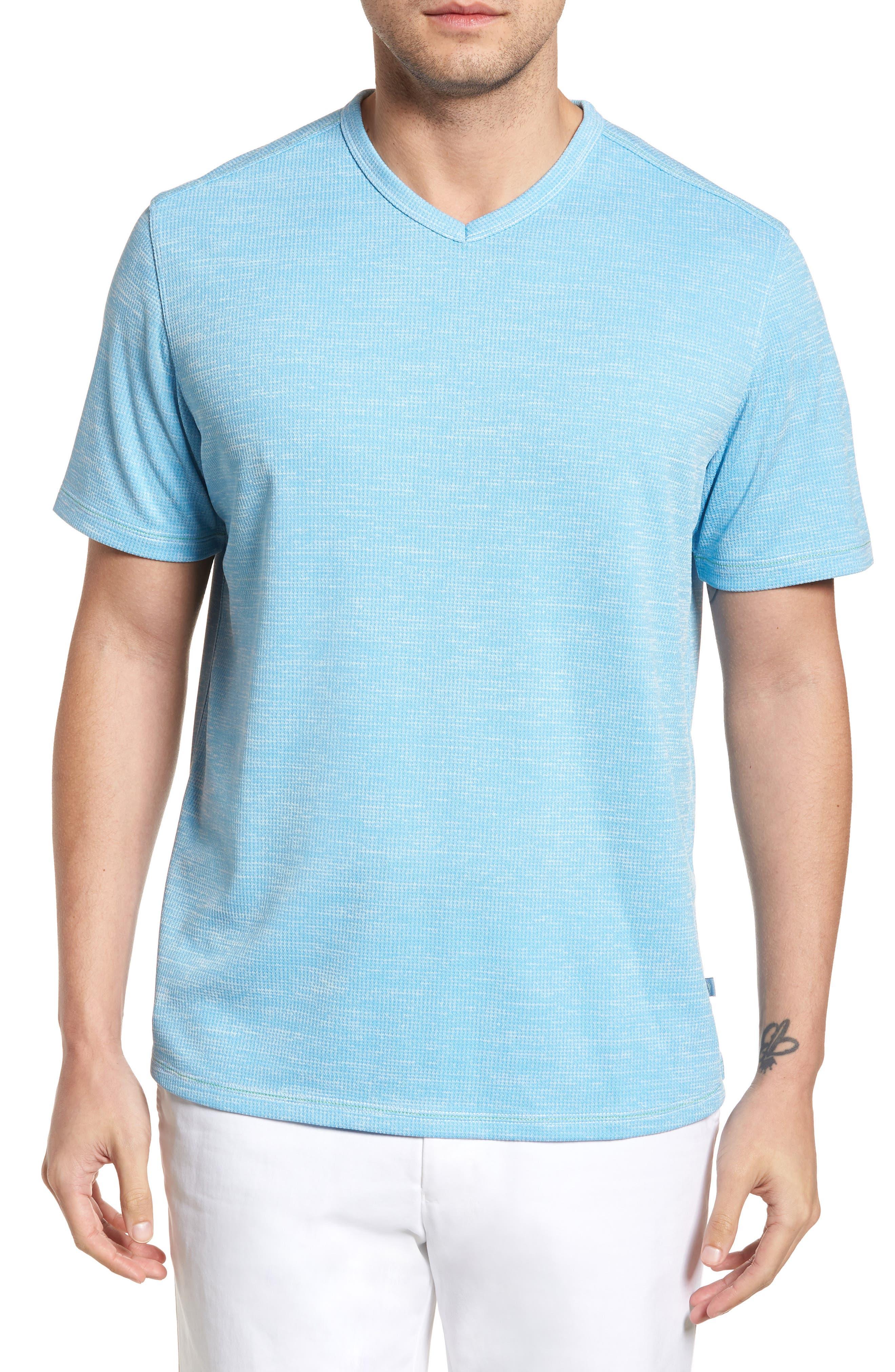 Sand Key V-Neck T-Shirt,                             Main thumbnail 4, color,