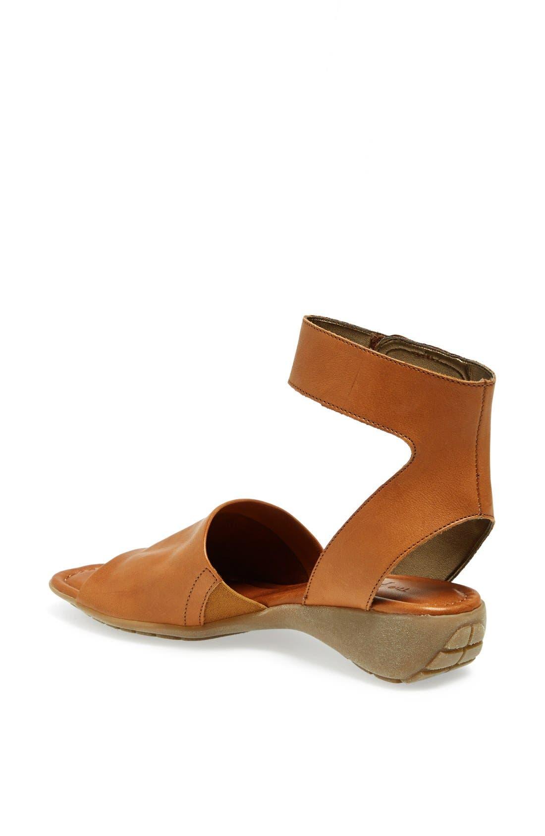 'Beglad' Leather Ankle Strap Sandal,                             Alternate thumbnail 26, color,