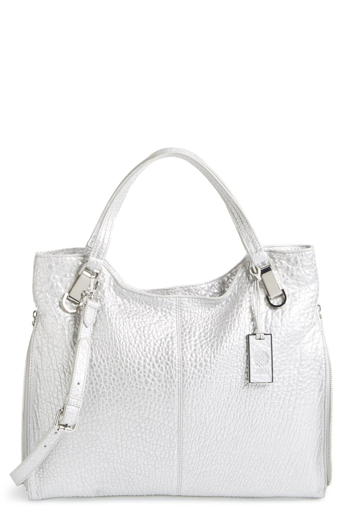 'Riley' Leather Tote,                             Main thumbnail 5, color,