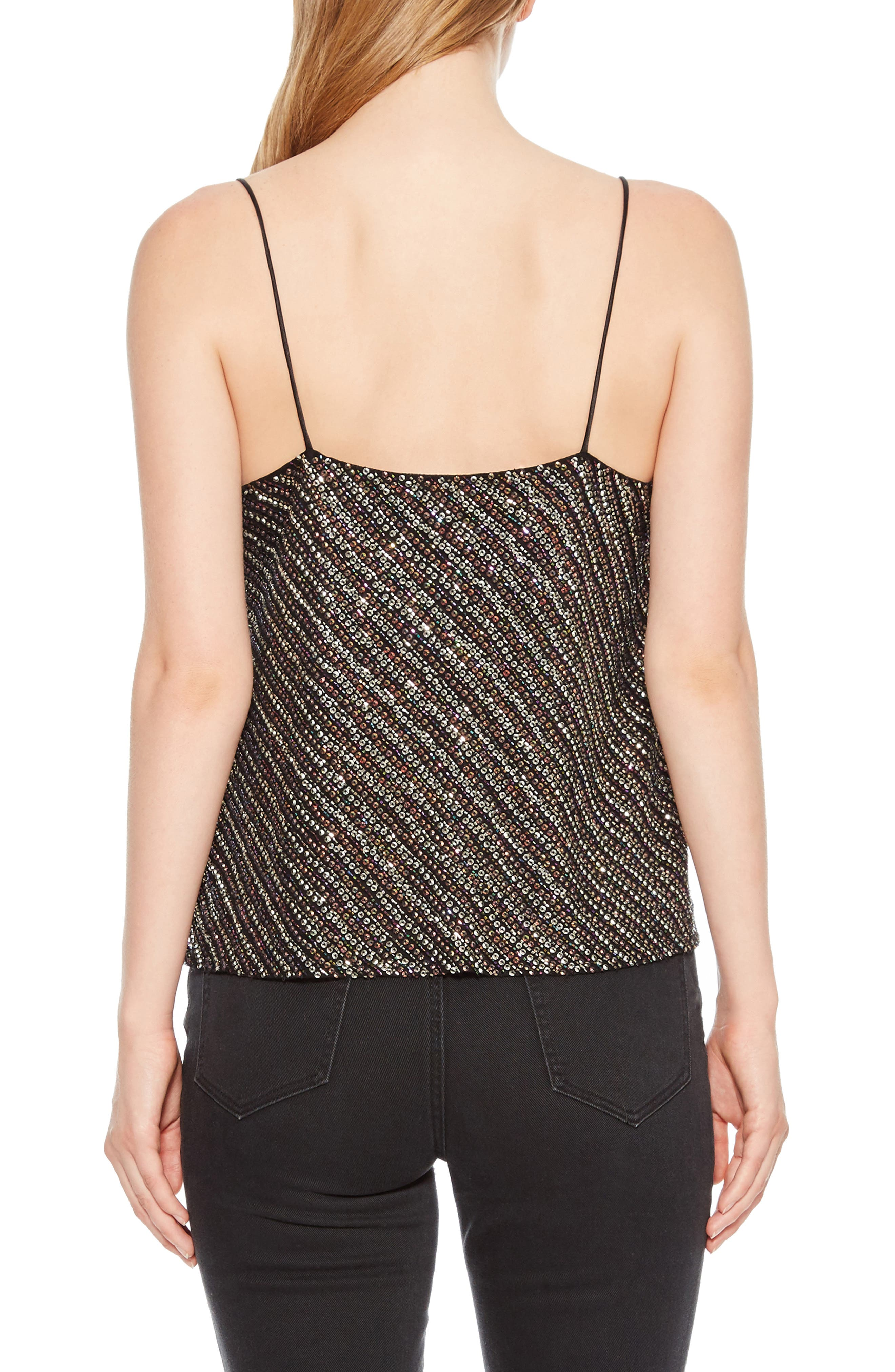Cowl Neck Beaded Camisole,                             Alternate thumbnail 2, color,                             015