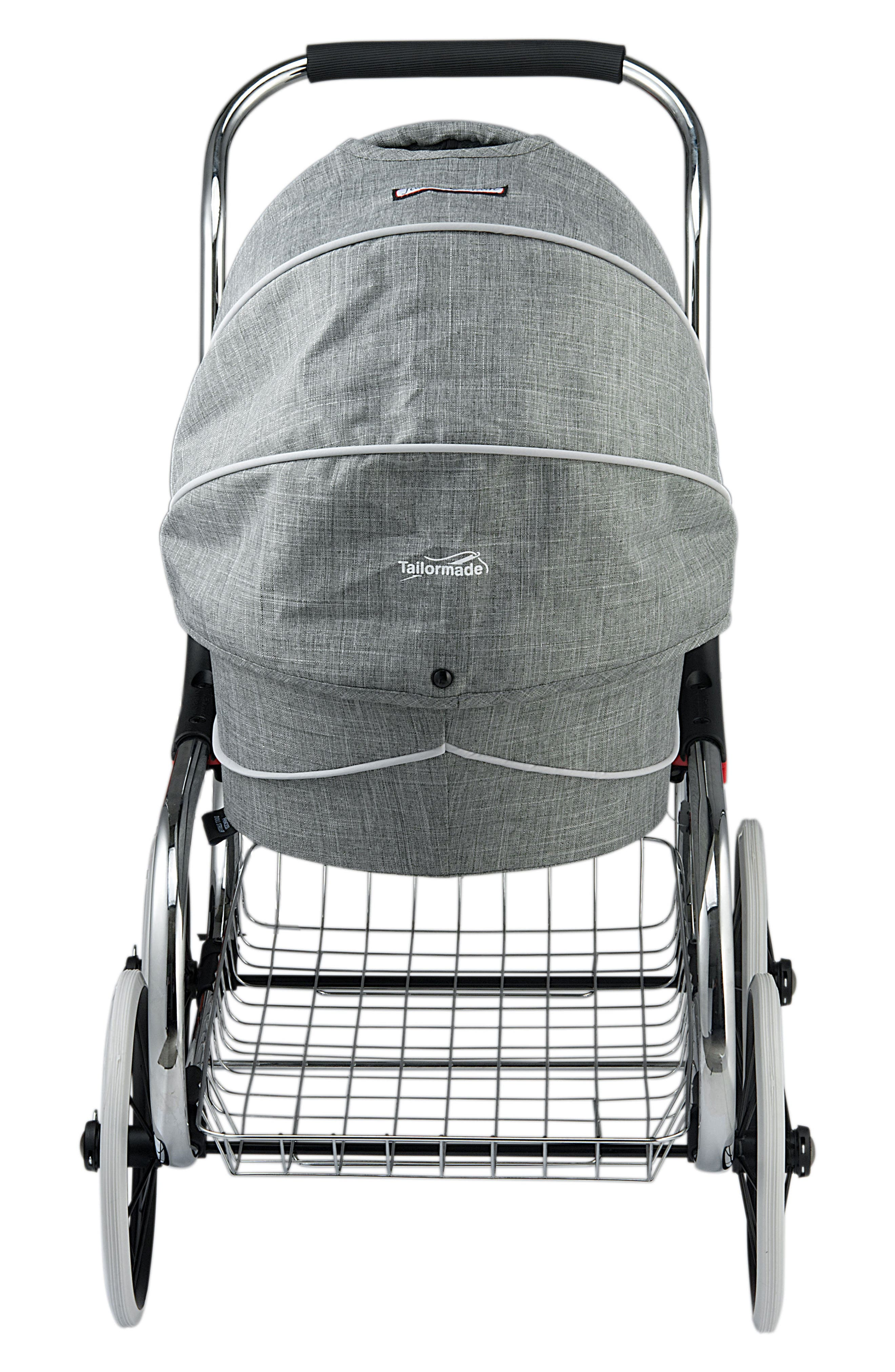 Princess Doll Stroller,                             Alternate thumbnail 3, color,                             GREY