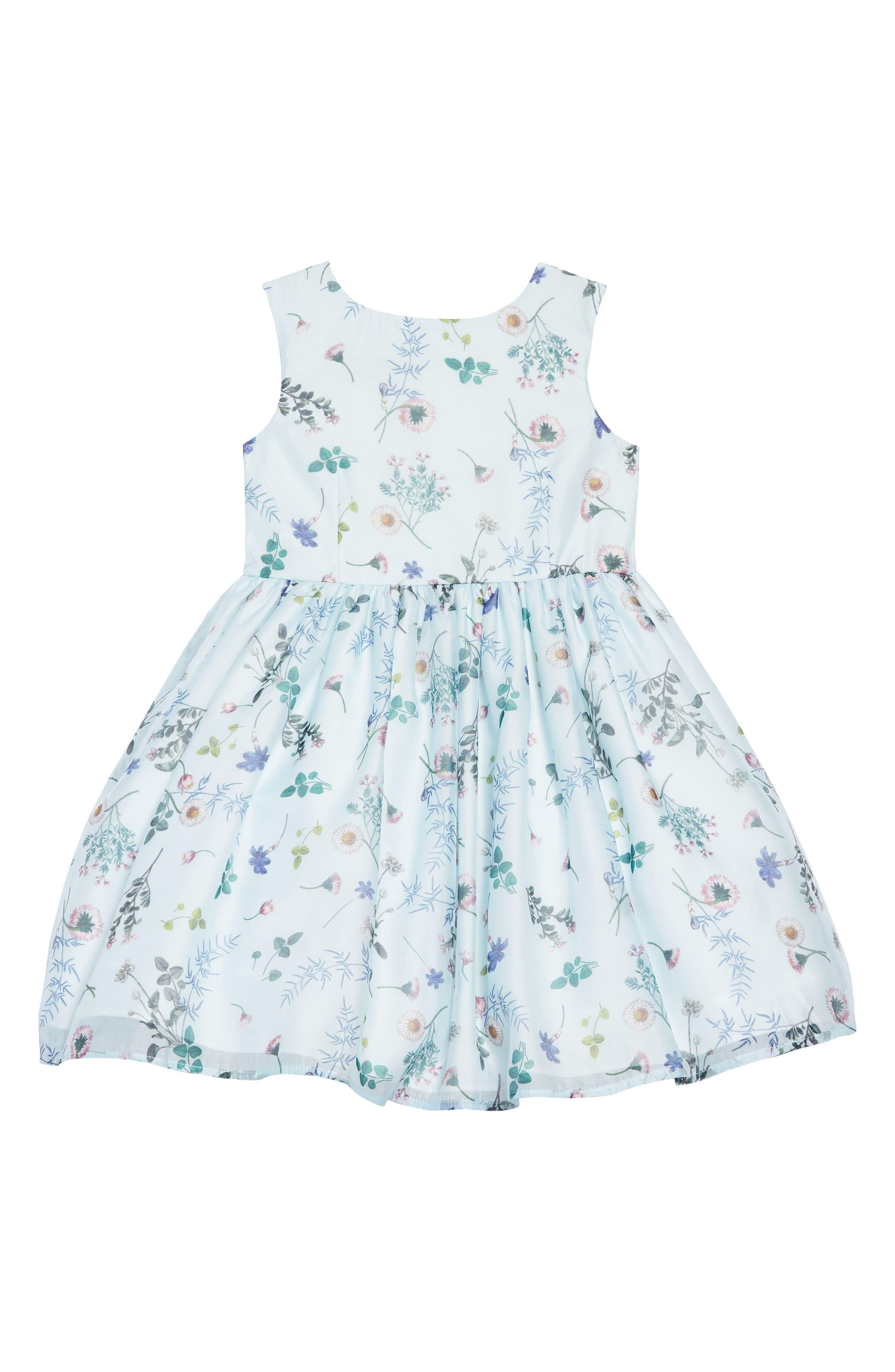 Wildflower Dress, Main, color, MULTI