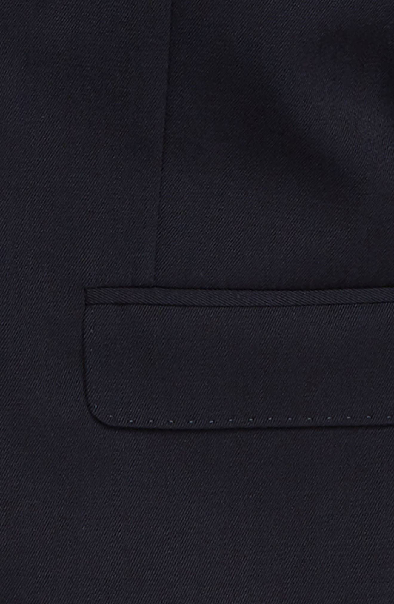 Ludlow Two-Button Wool Blazer,                             Alternate thumbnail 2, color,                             NAVY