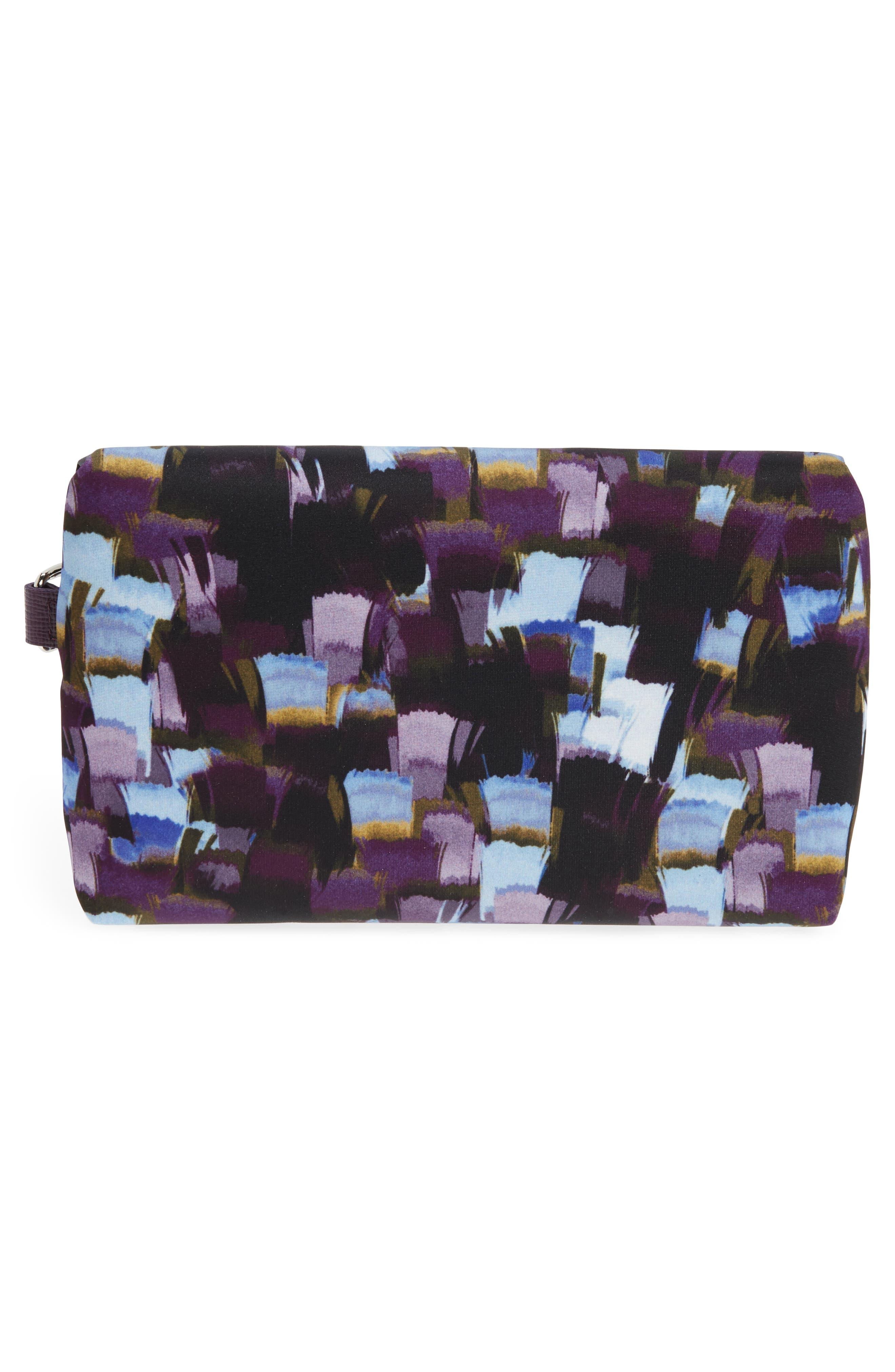 Le Pliage Neo - Vibrations Nylon Cosmetics Case,                             Alternate thumbnail 2, color,                             500