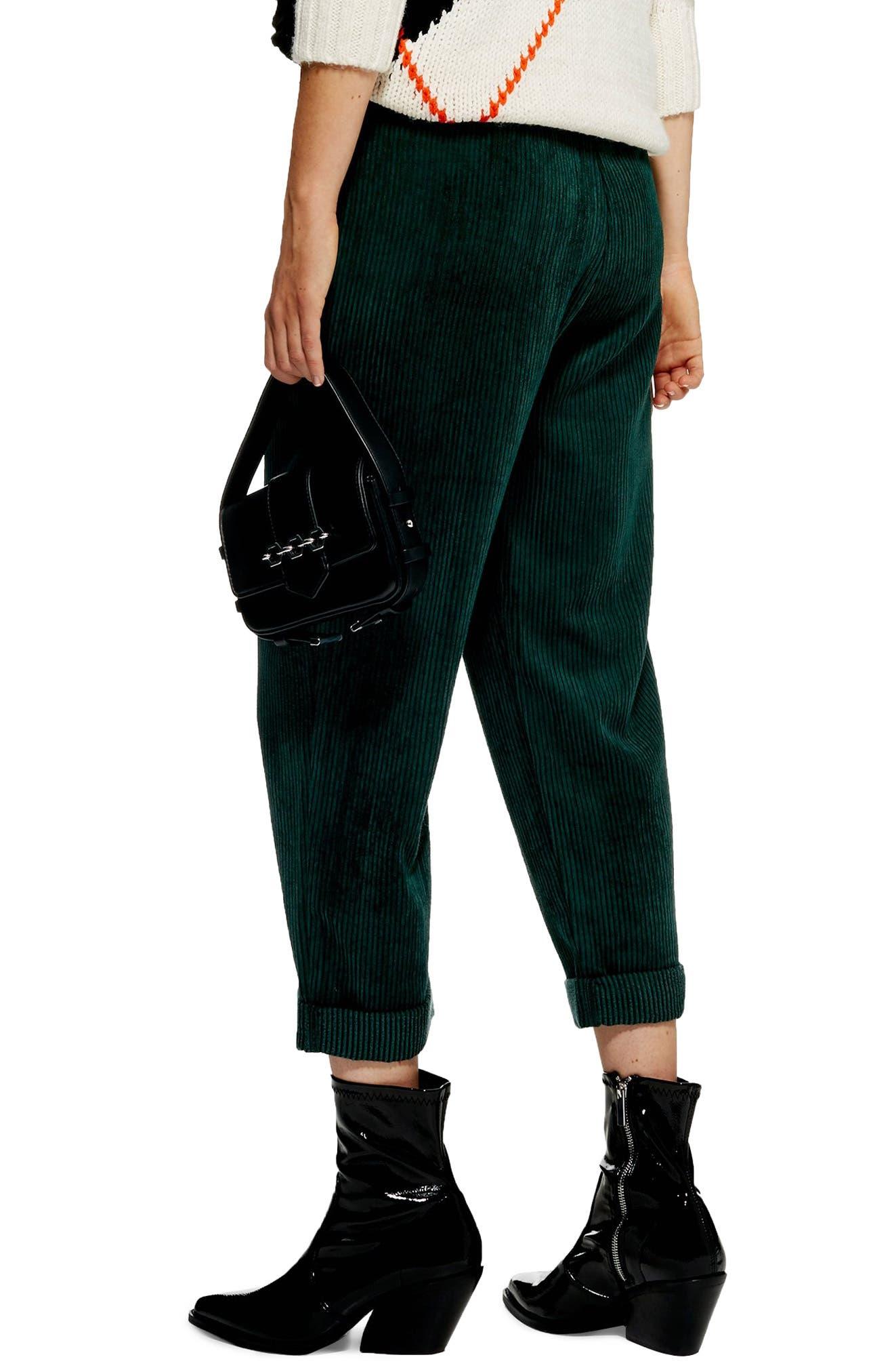 Corduroy Peg Trousers,                             Alternate thumbnail 2, color,                             301