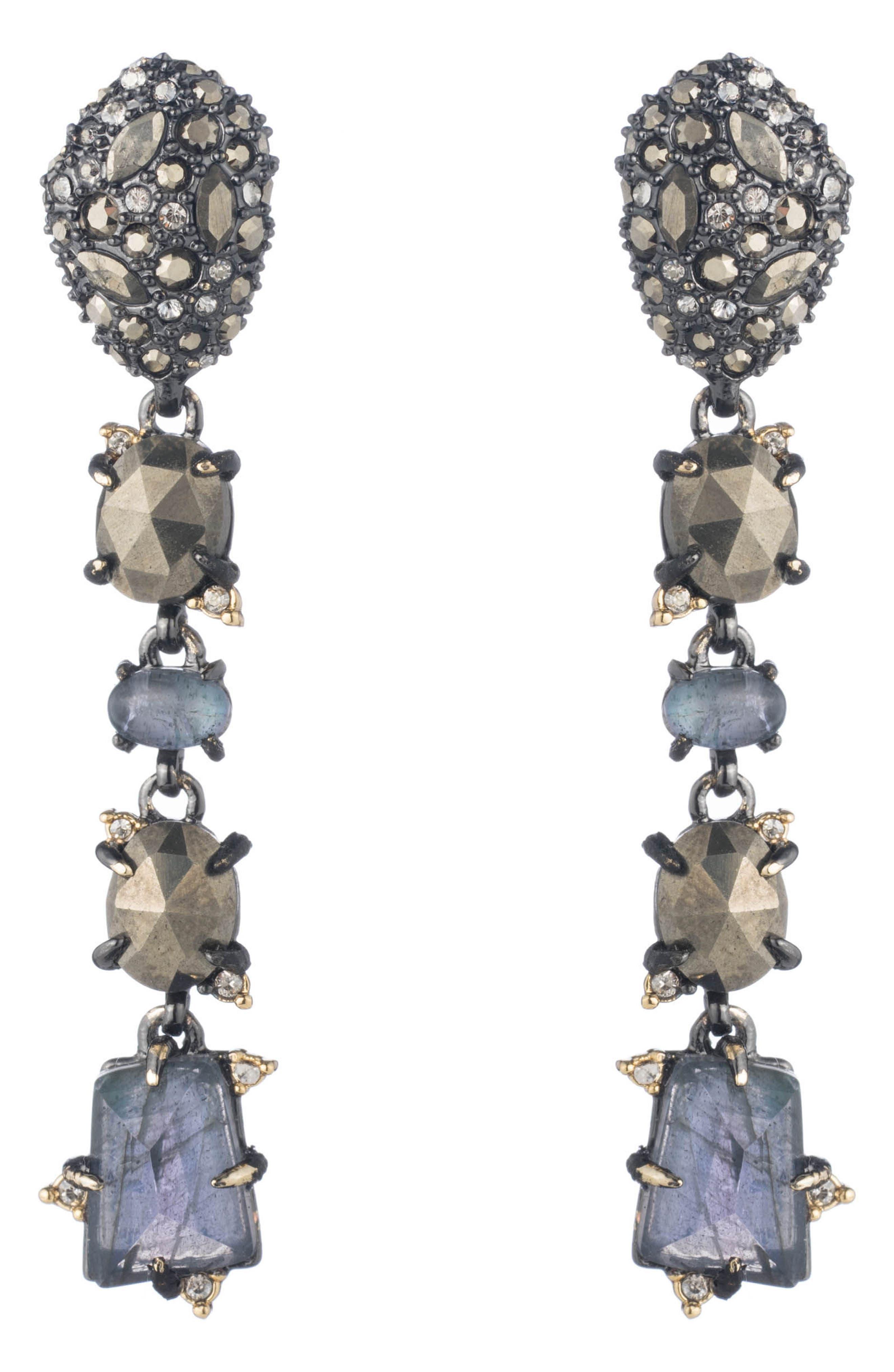 Elements Linear Earrings,                             Main thumbnail 1, color,                             710