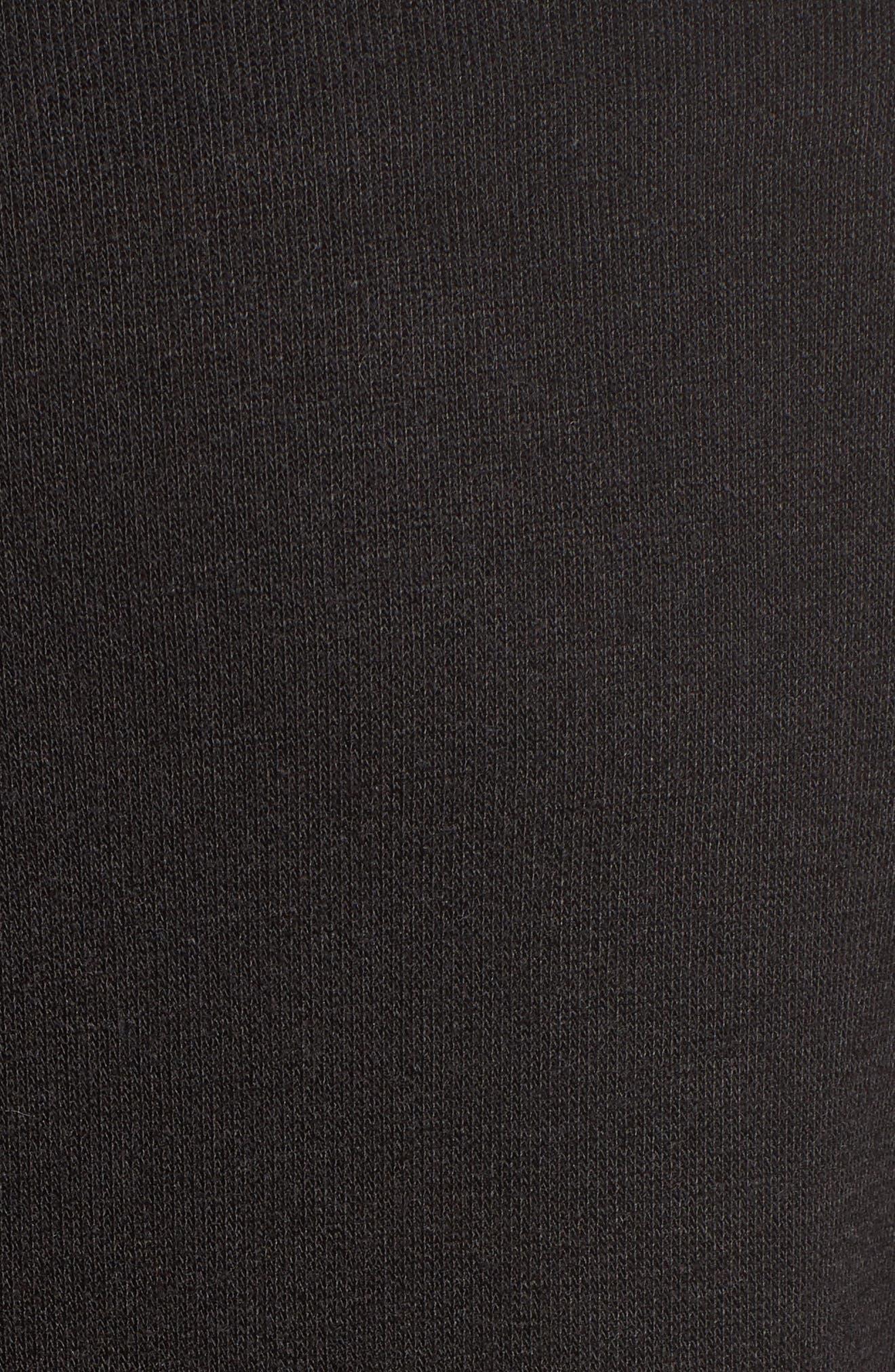 Bateau Neck Knit Tunic,                             Alternate thumbnail 5, color,                             001