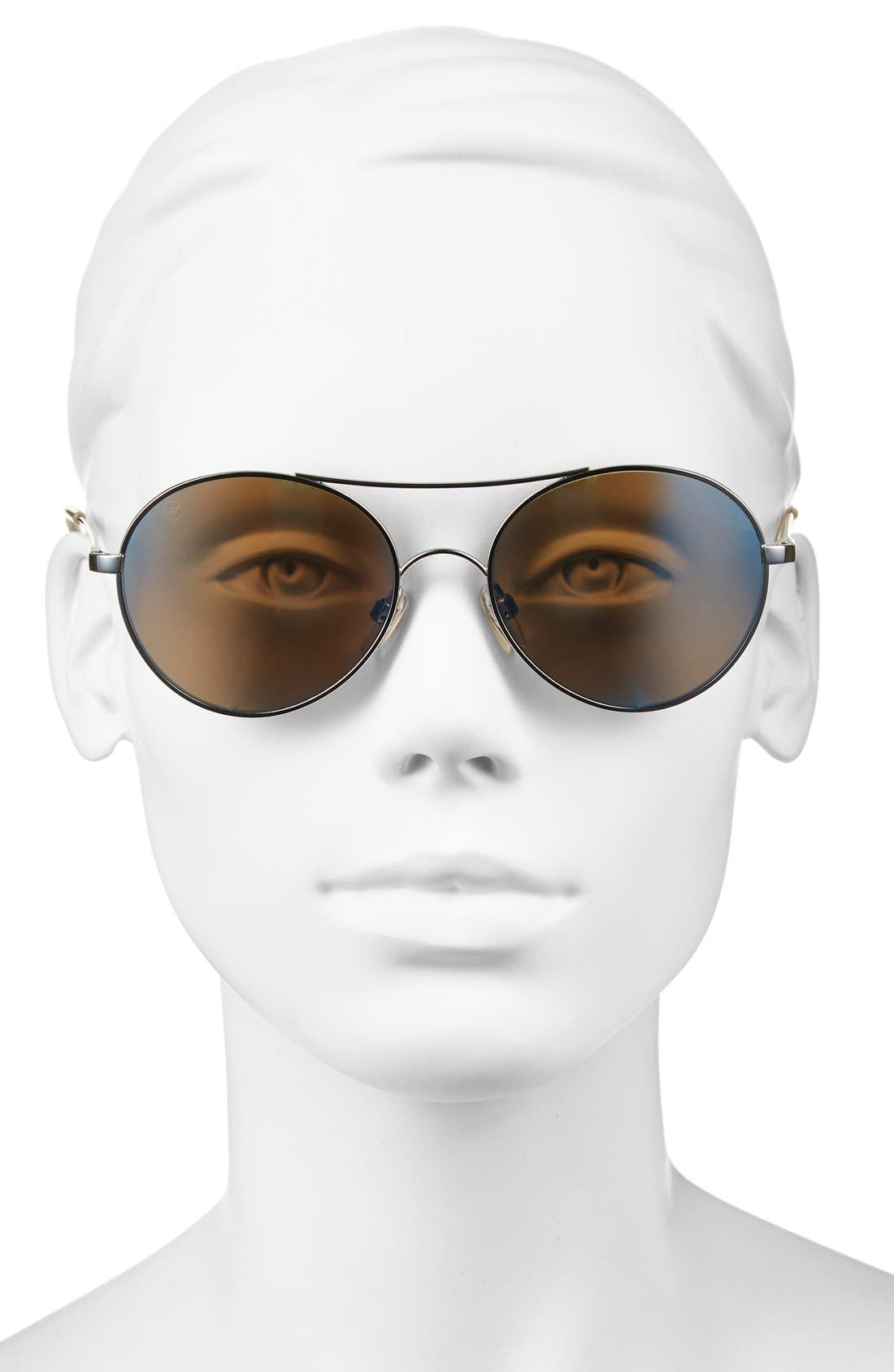 'Huxley' 53mm Round Sunglasses,                             Alternate thumbnail 2, color,                             020